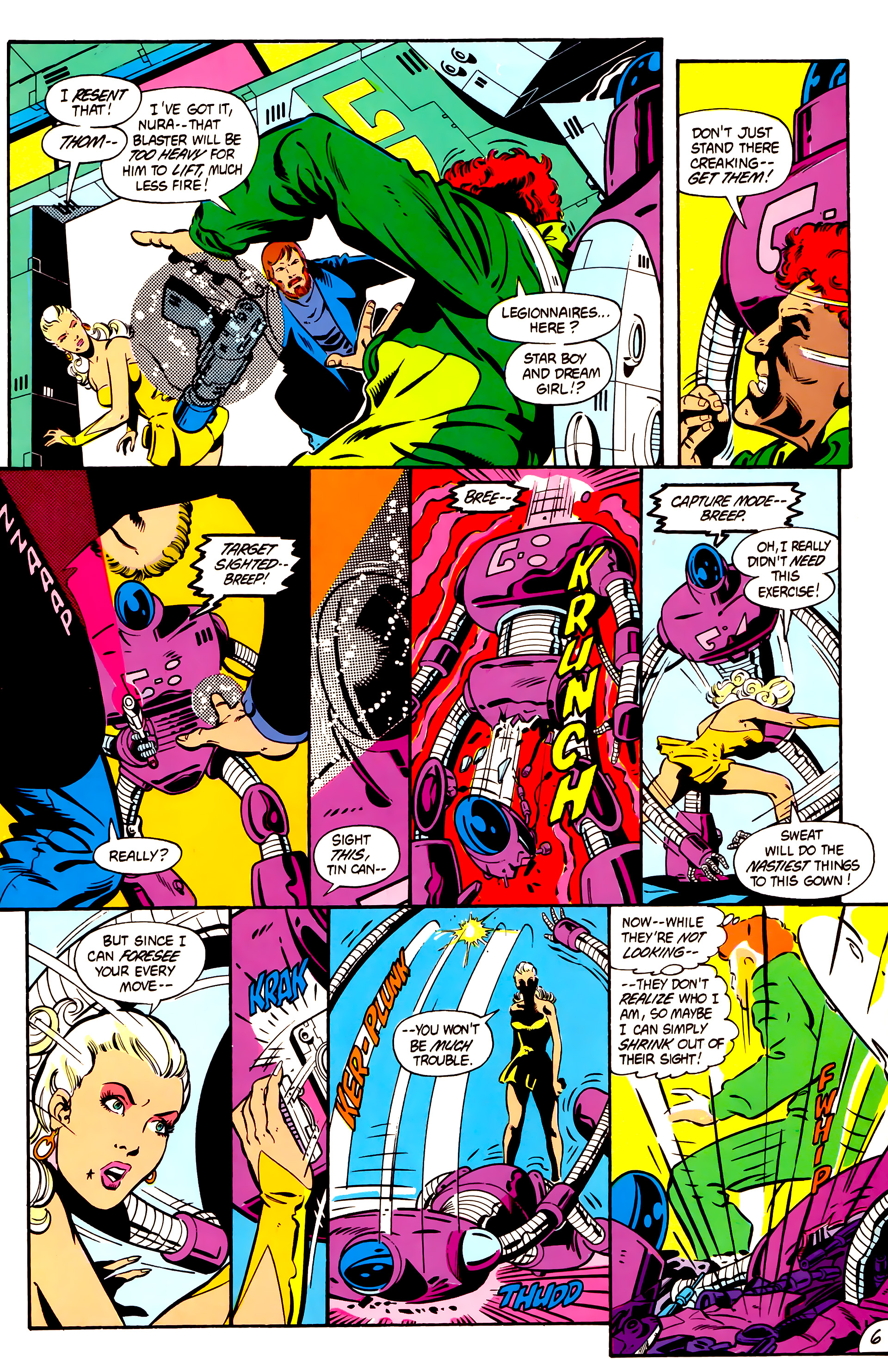 Legion of Super-Heroes (1984) 1 Page 7