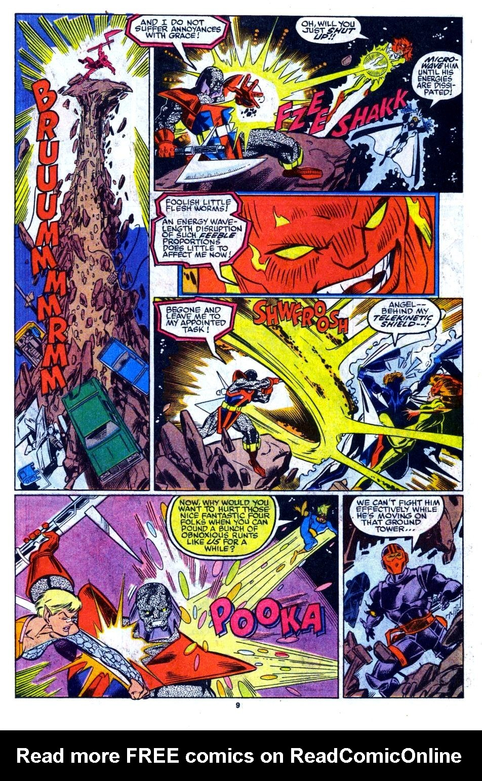 The New Warriors Issue #16 #20 - English 8