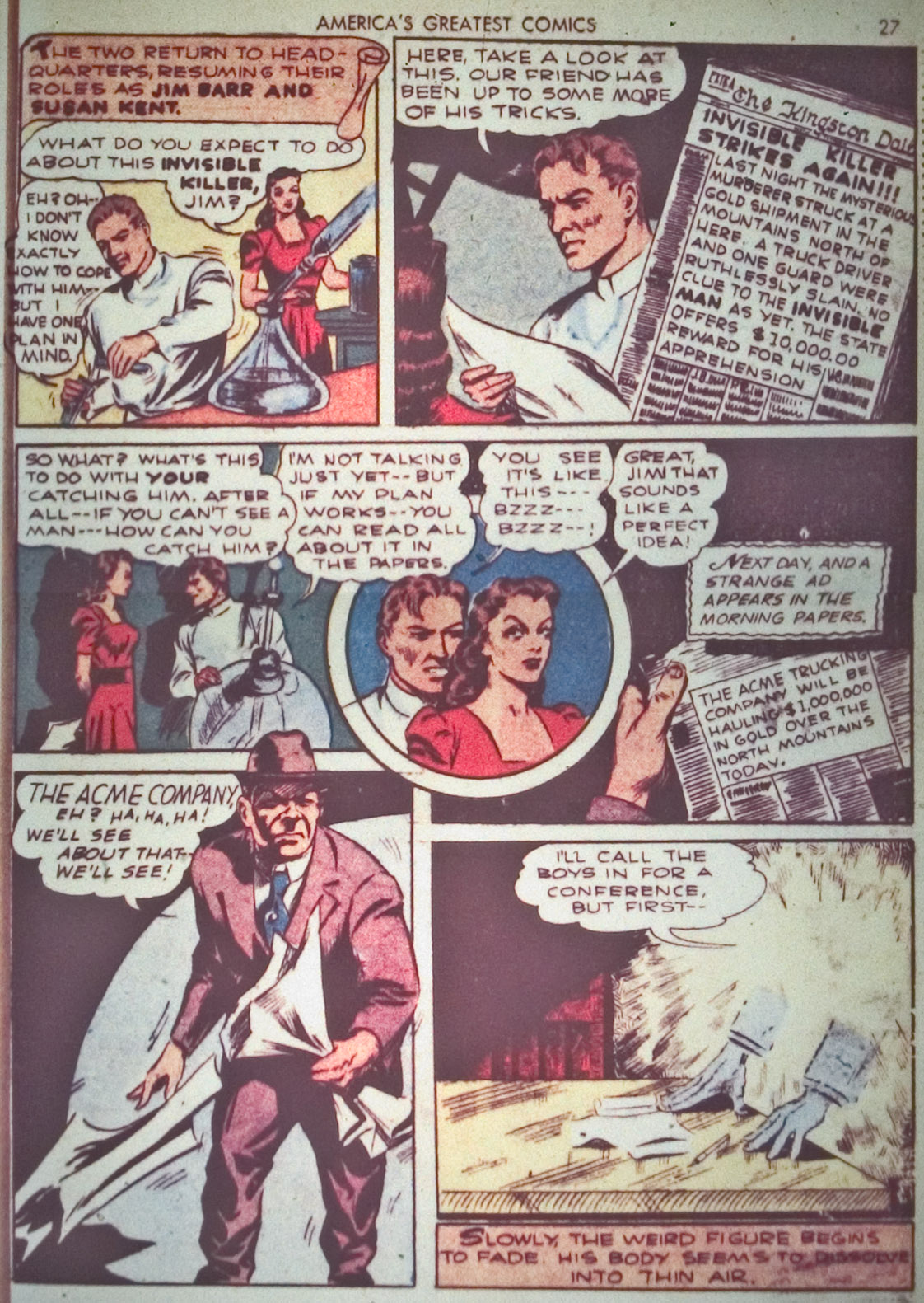 Read online America's Greatest Comics comic -  Issue #1 - 30