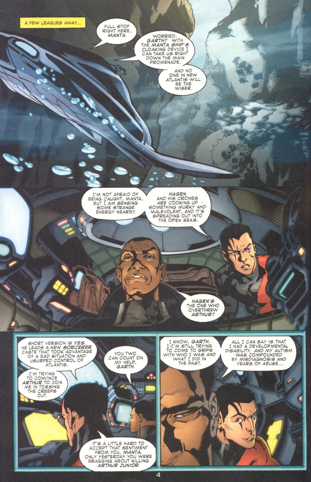 Read online Aquaman (2003) comic -  Issue #9 - 6