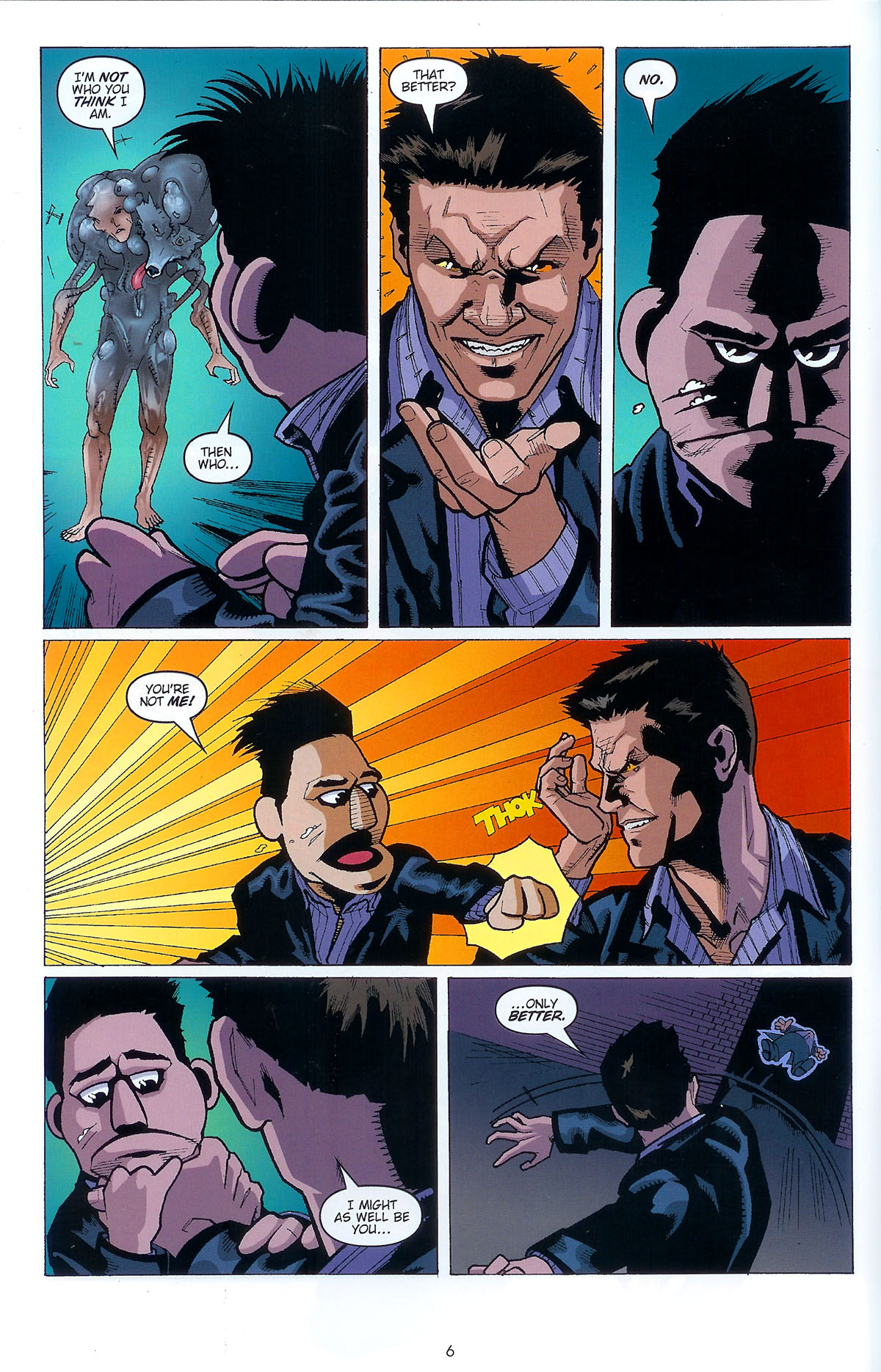 Read online Angel: Masks comic -  Issue # Full - 8
