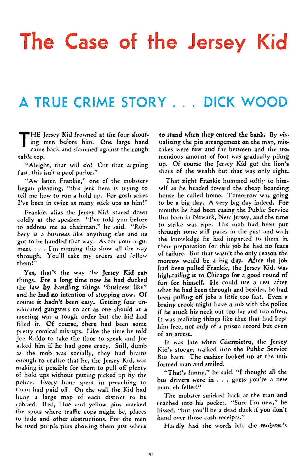 Read online Crime Does Not Pay Archives comic -  Issue # TPB 4 (Part 1) - 91