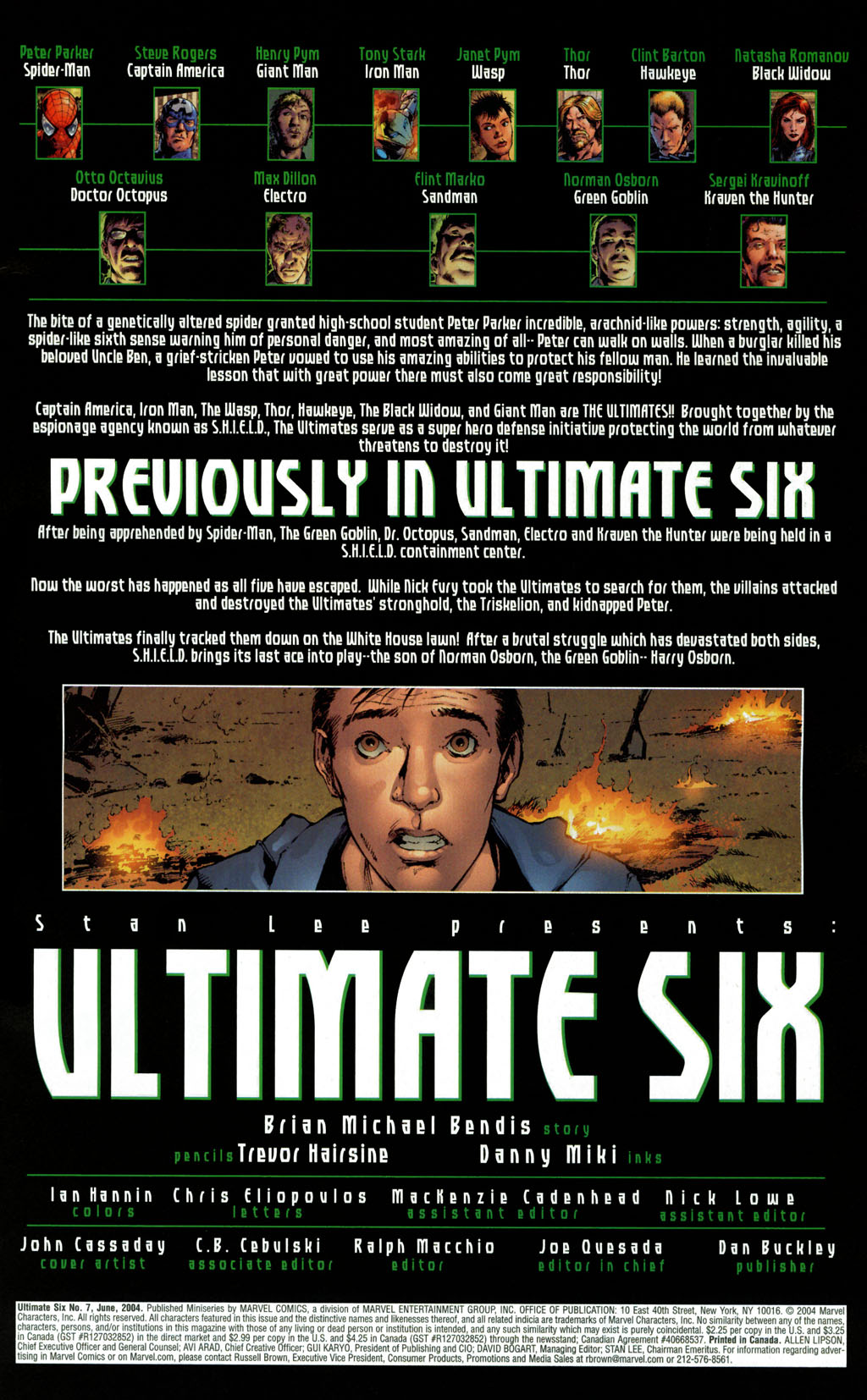 Read online Ultimate Six comic -  Issue #7 - 2