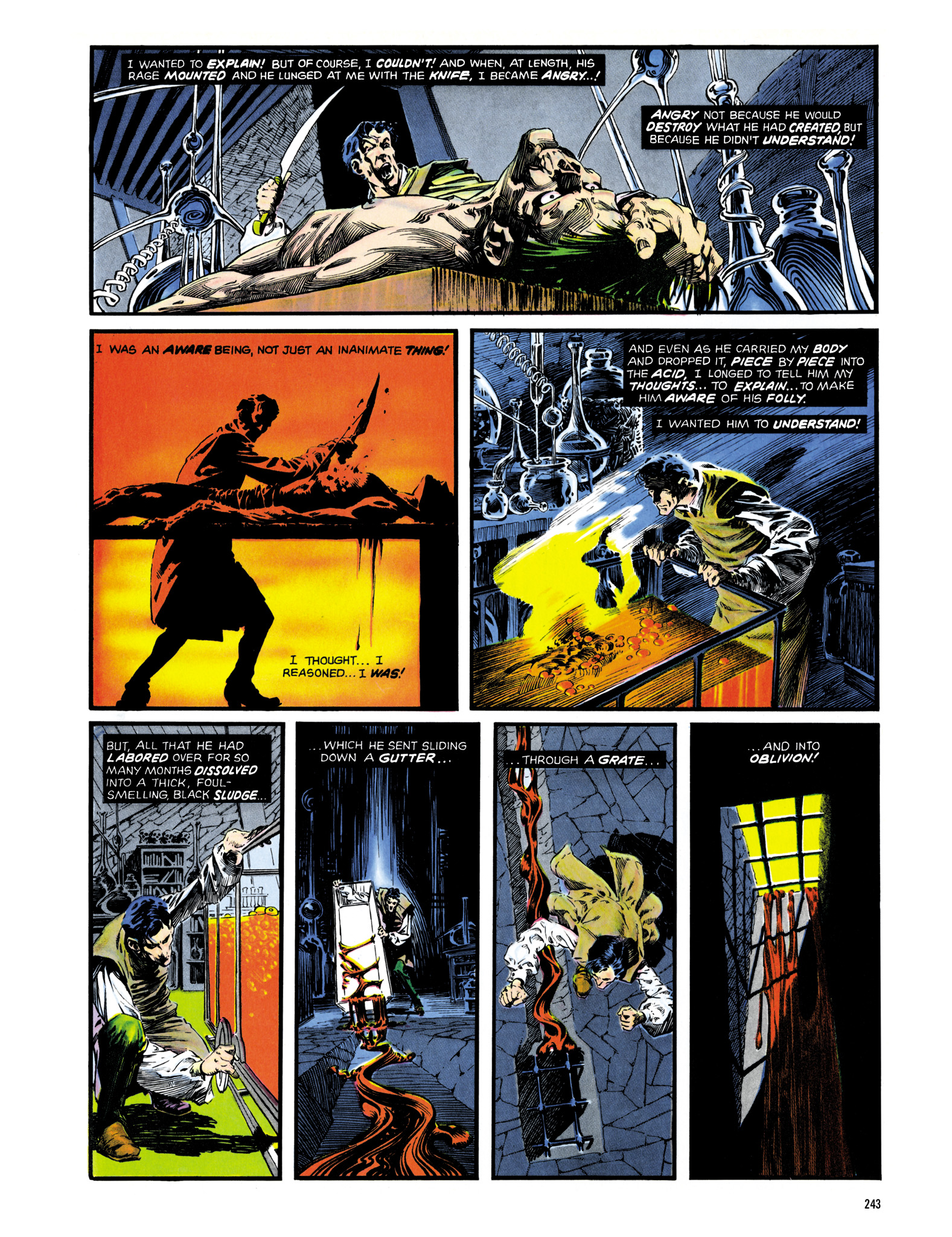 Read online Eerie Archives comic -  Issue # TPB 14 - 244