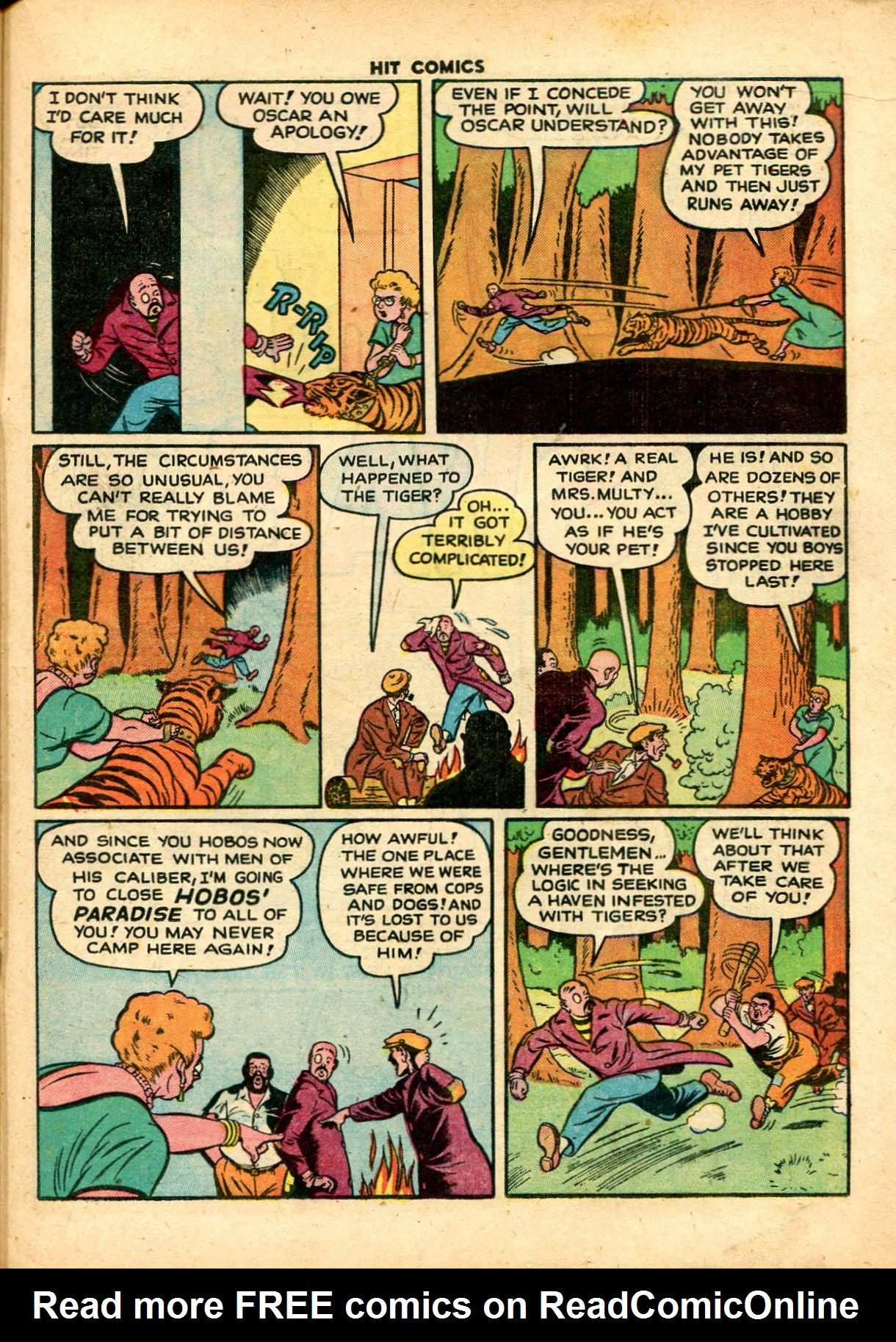 Read online Hit Comics comic -  Issue #59 - 21