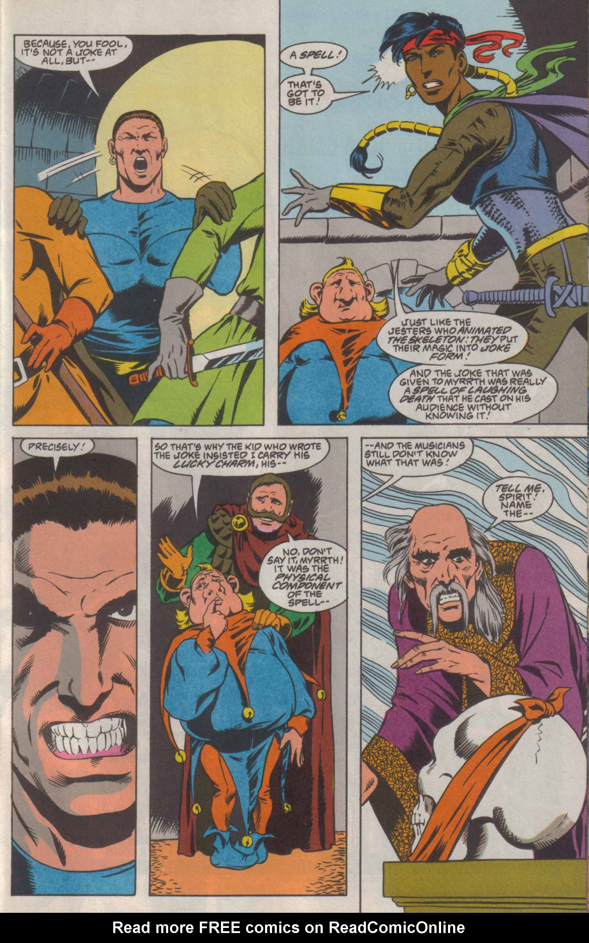 Read online Advanced Dungeons & Dragons comic -  Issue #8 - 18