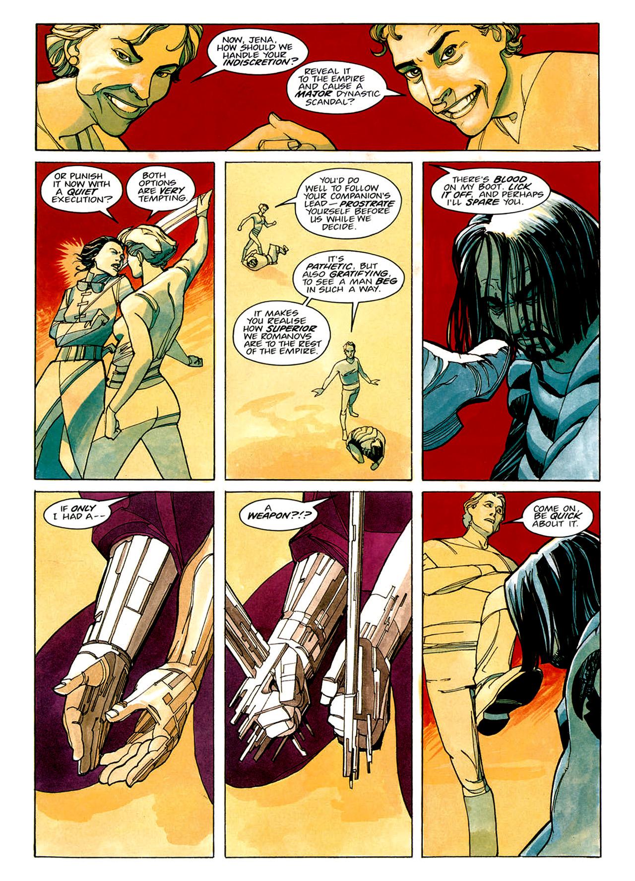 Read online Nikolai Dante comic -  Issue # TPB 1 - 31