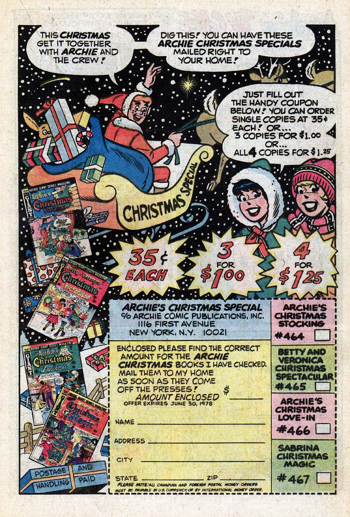 Read online Archie (1960) comic -  Issue #267 - 19