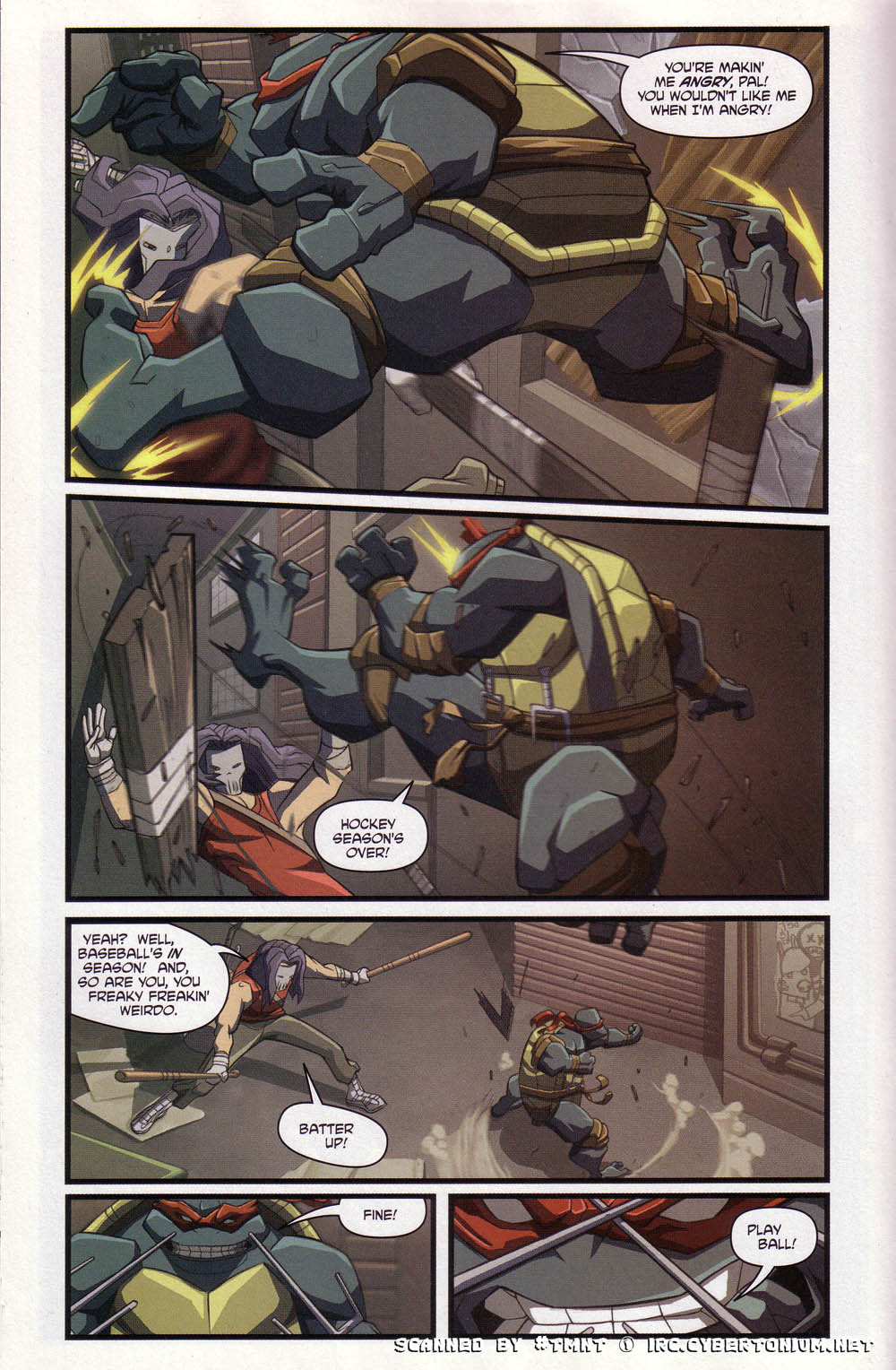 Teenage Mutant Ninja Turtles (2003) issue 4 - Page 14