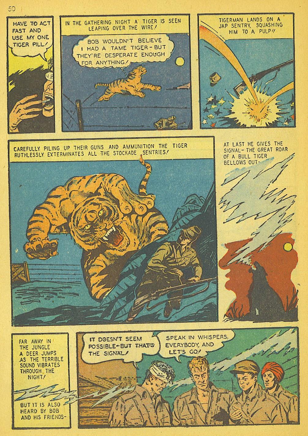 Read online Super-Magician Comics comic -  Issue #19 - 42