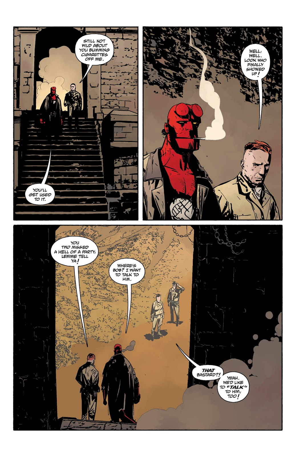 Read online Hellboy and the B.P.R.D. comic -  Issue # _TPB - 118