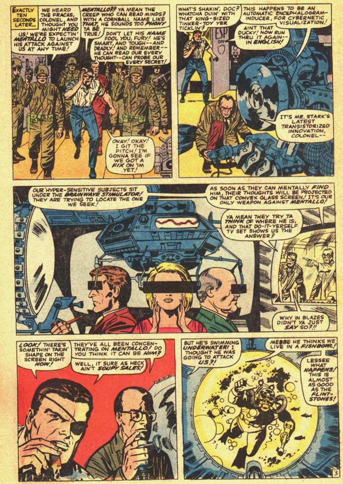 Nick Fury, Agent of SHIELD issue 18 - Page 4