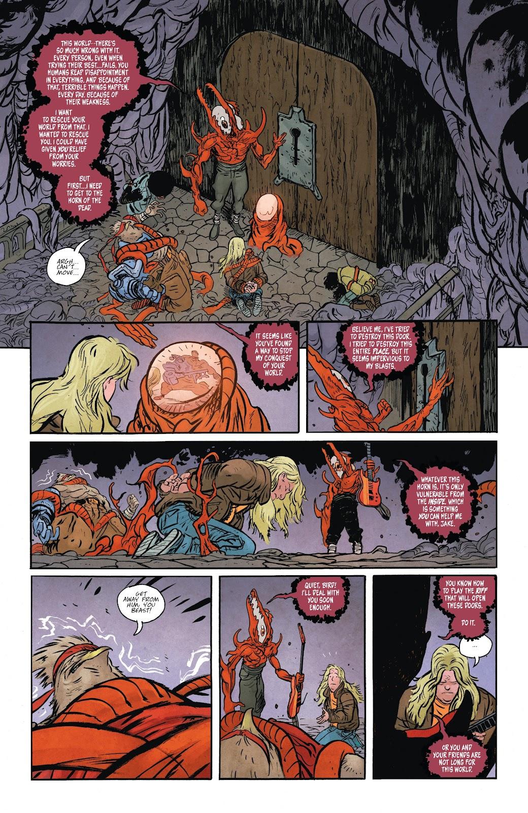 Read online Murder Falcon comic -  Issue #6 - 13