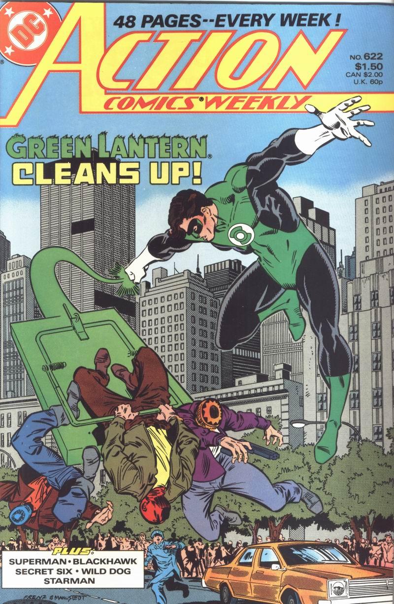 Action Comics (1938) 622 Page 1