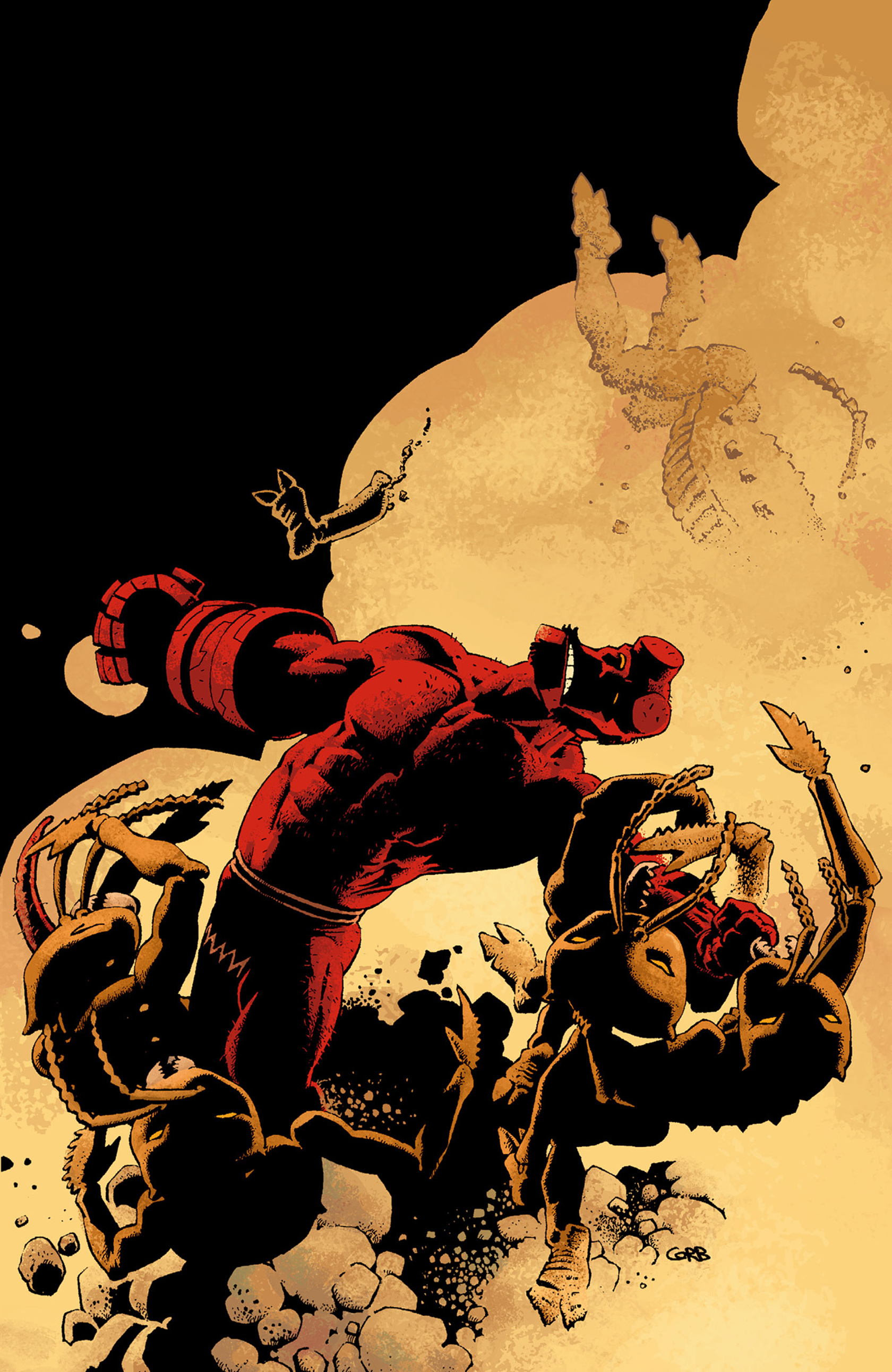 Read online Hellboy: The Troll Witch and Others comic -  Issue # TPB - 133