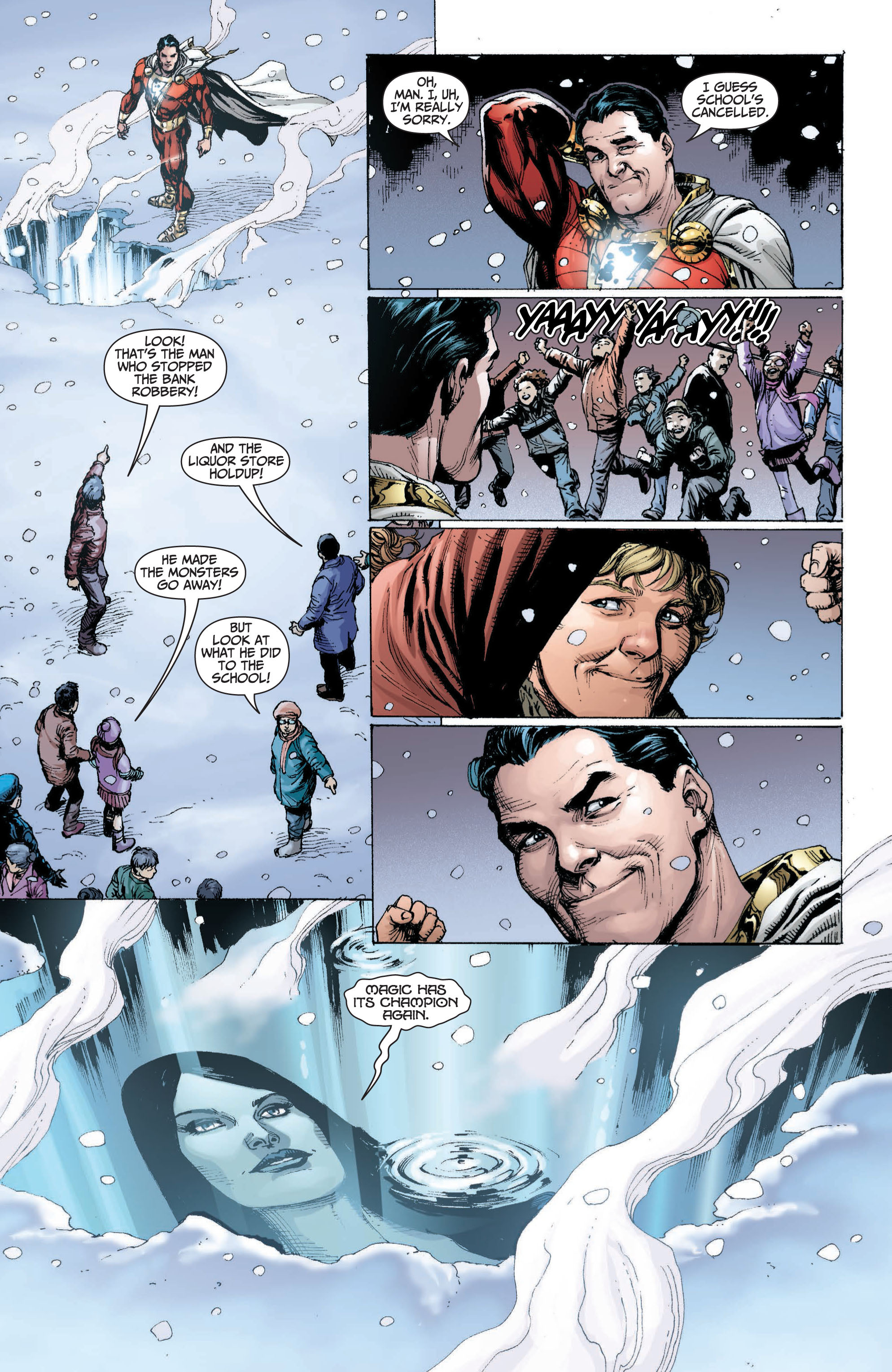 Read online Shazam! (2013) comic -  Issue #1 - 174