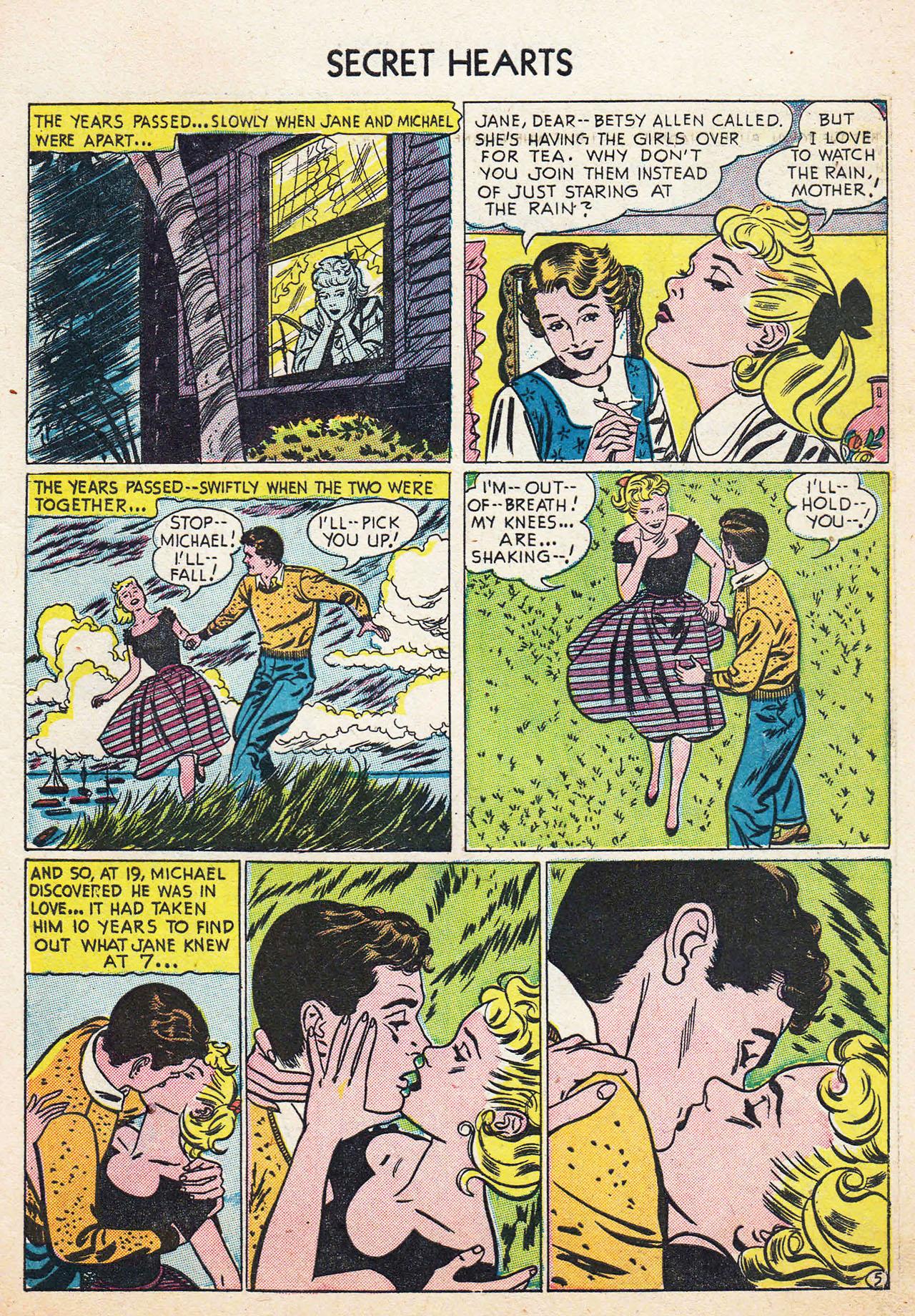Read online Secret Hearts comic -  Issue #13 - 7
