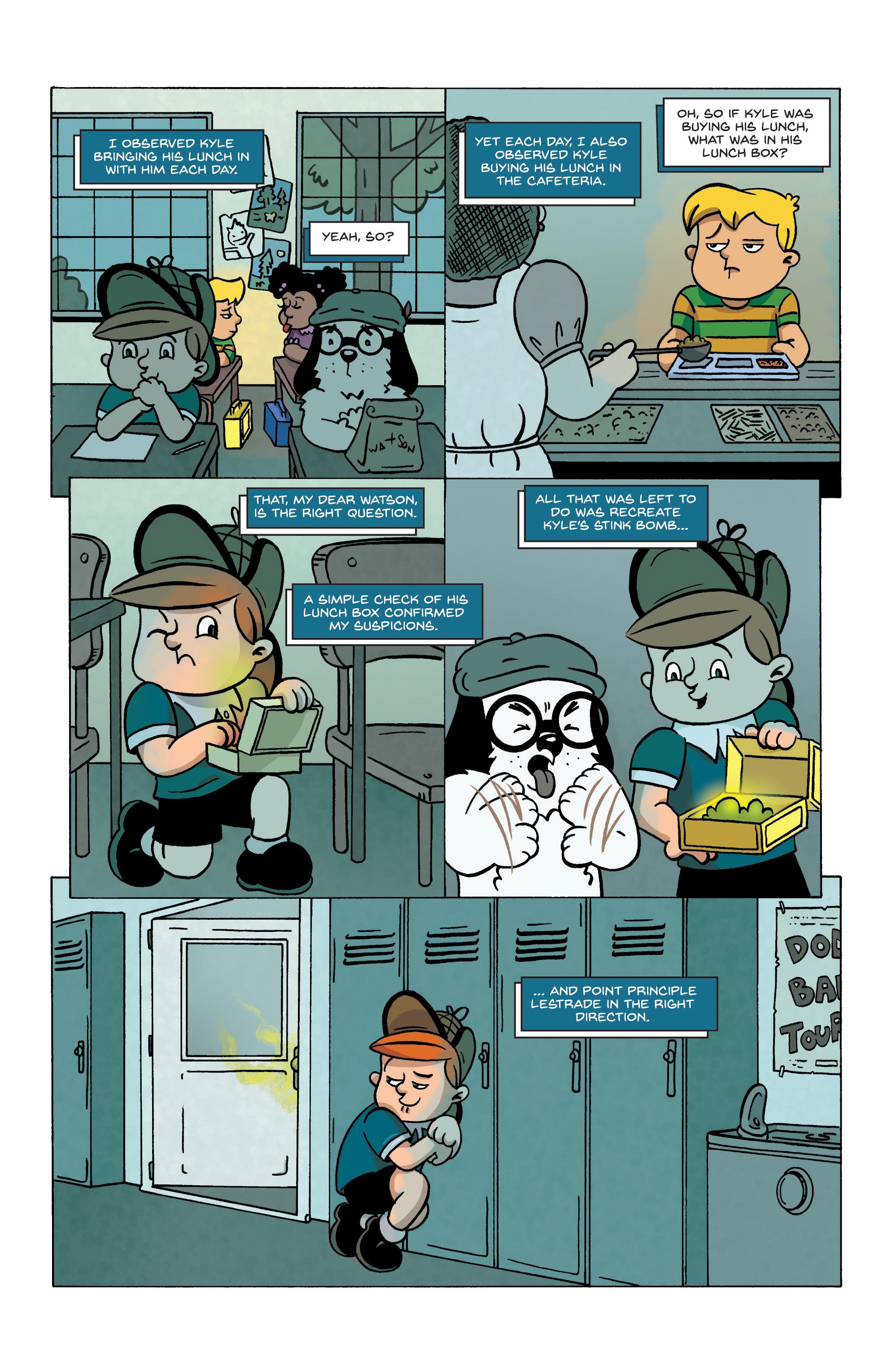 Read online Kid Sherlock comic -  Issue #1 - 22