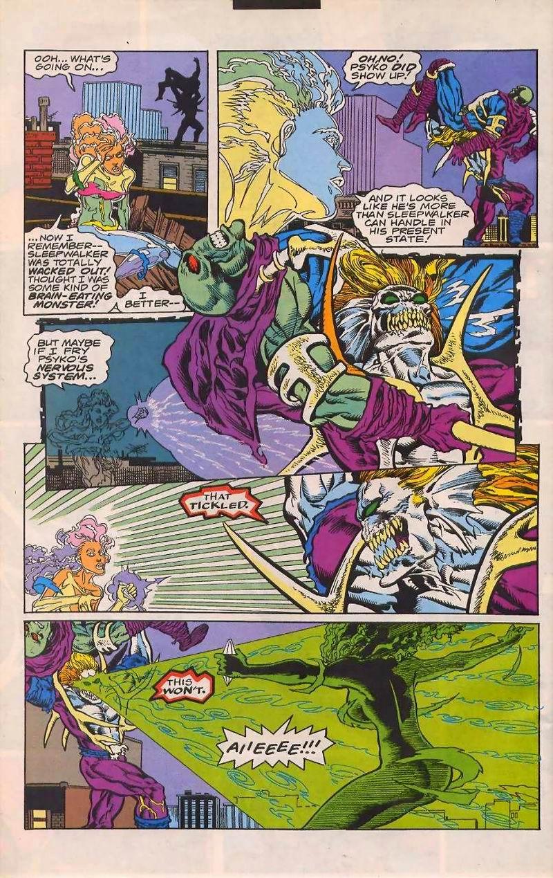 Read online Sleepwalker comic -  Issue #32 - 18