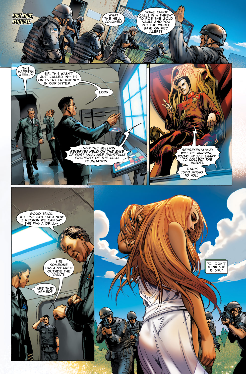 Read online Agents Of Atlas (2009) comic -  Issue #0 - 10