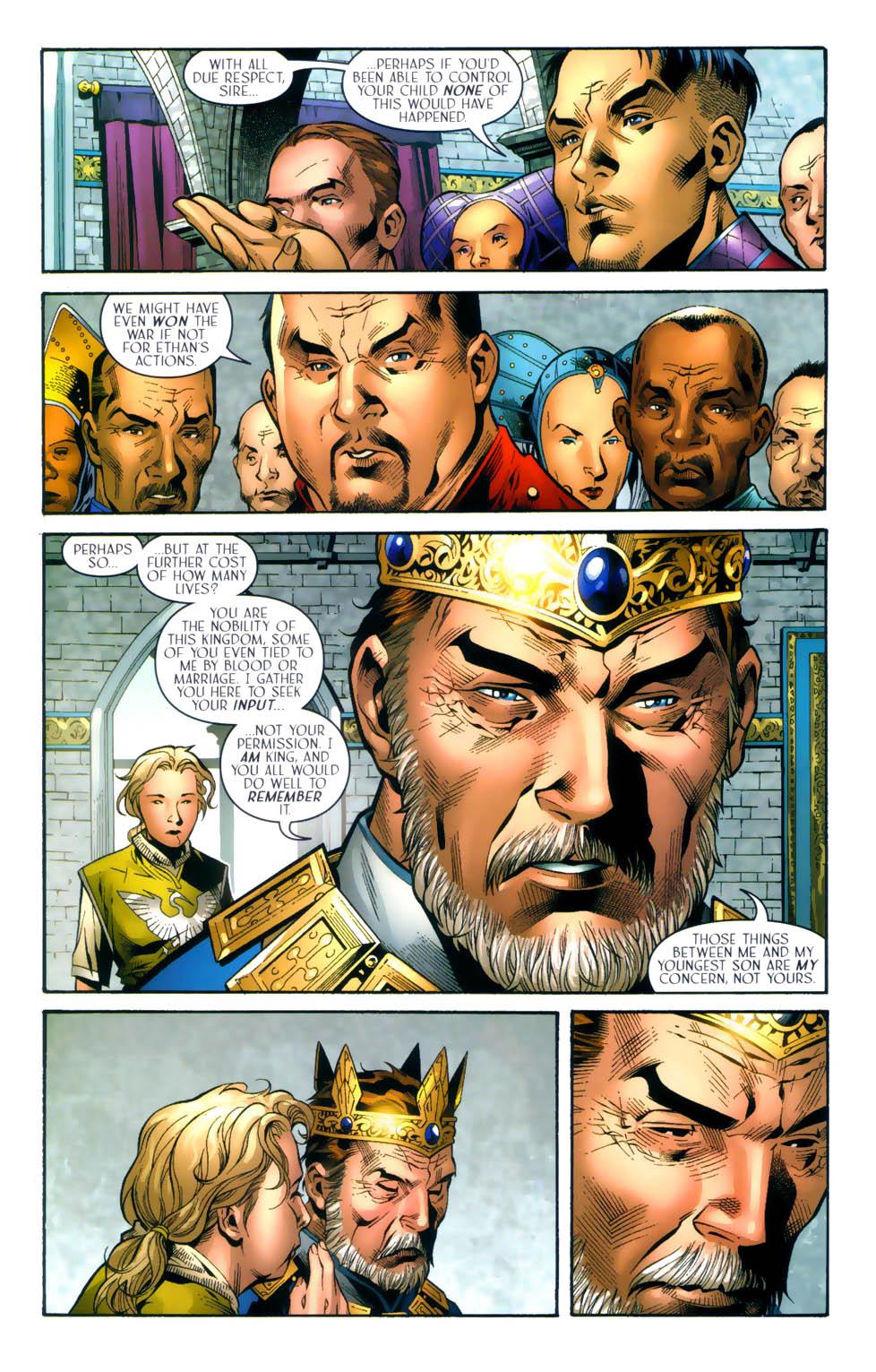 Read online Scion comic -  Issue #31 - 21