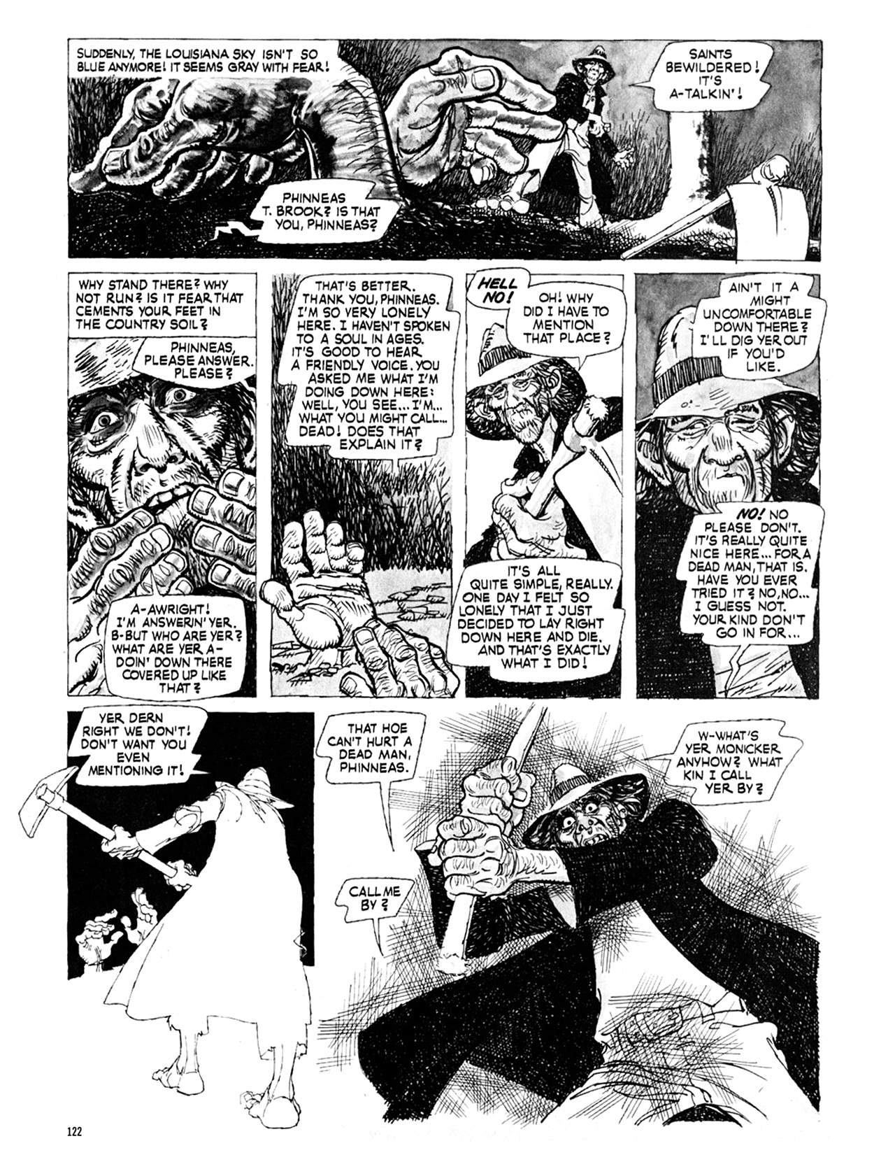 Read online Eerie Archives comic -  Issue # TPB 9 - 123