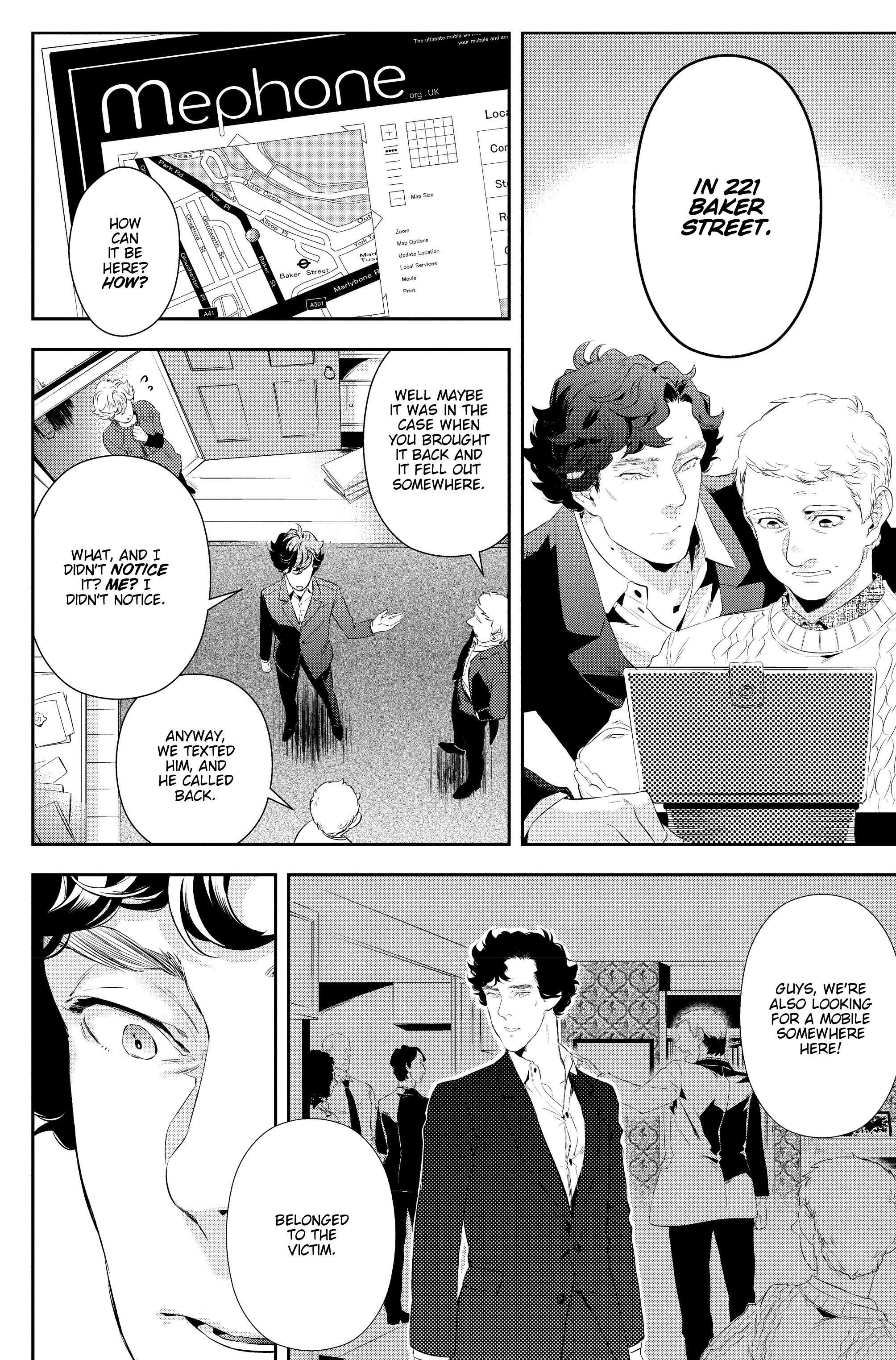 Read online Sherlock: A Study In Pink comic -  Issue #5 - 18