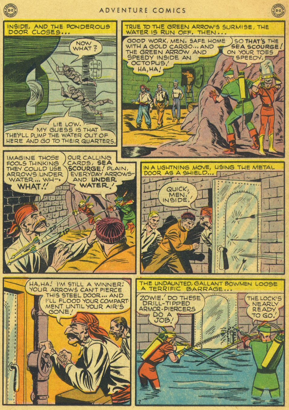 Read online Adventure Comics (1938) comic -  Issue #134 - 25