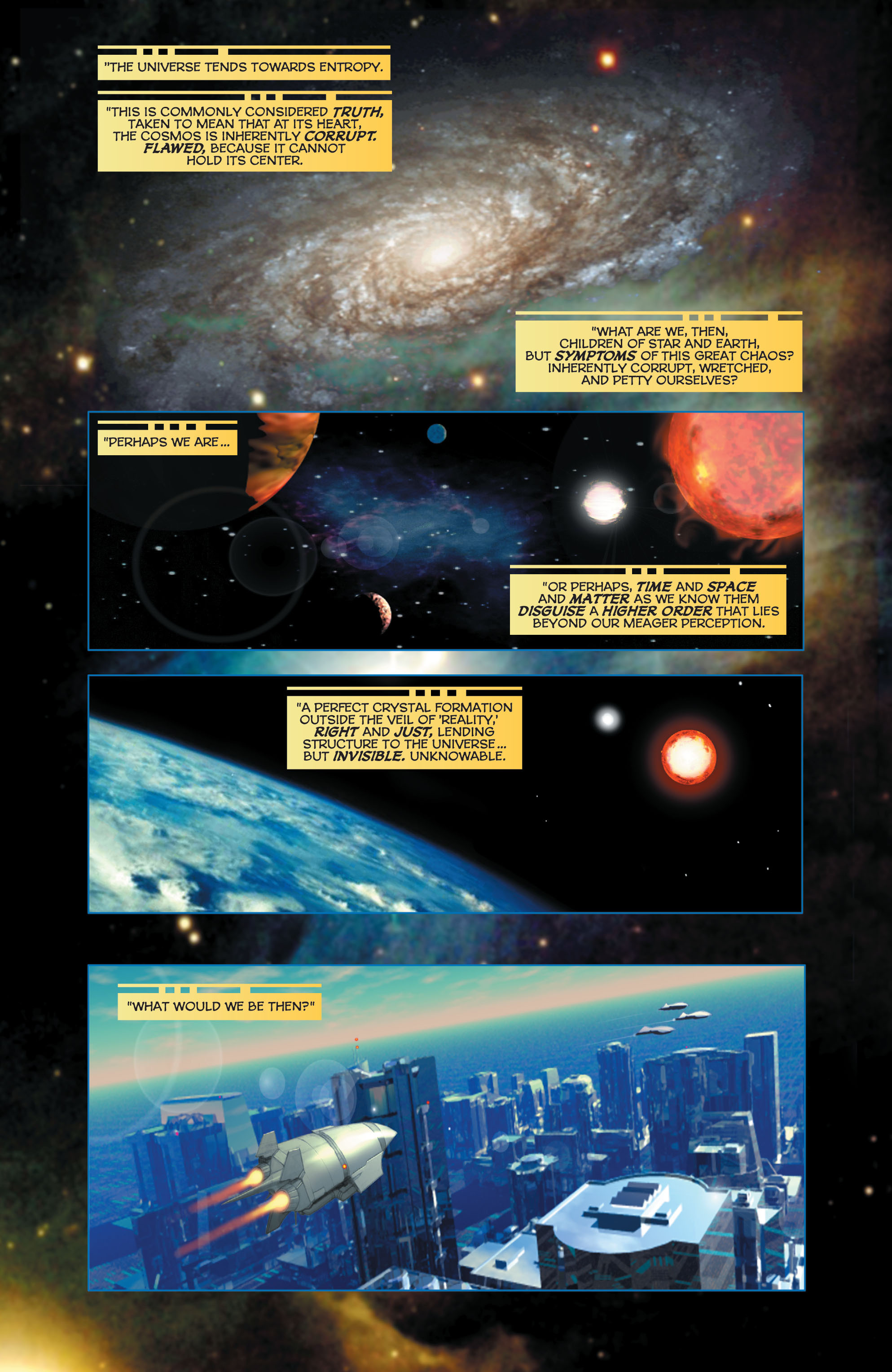 Read online Space Ghost (2016) comic -  Issue # Full - 6