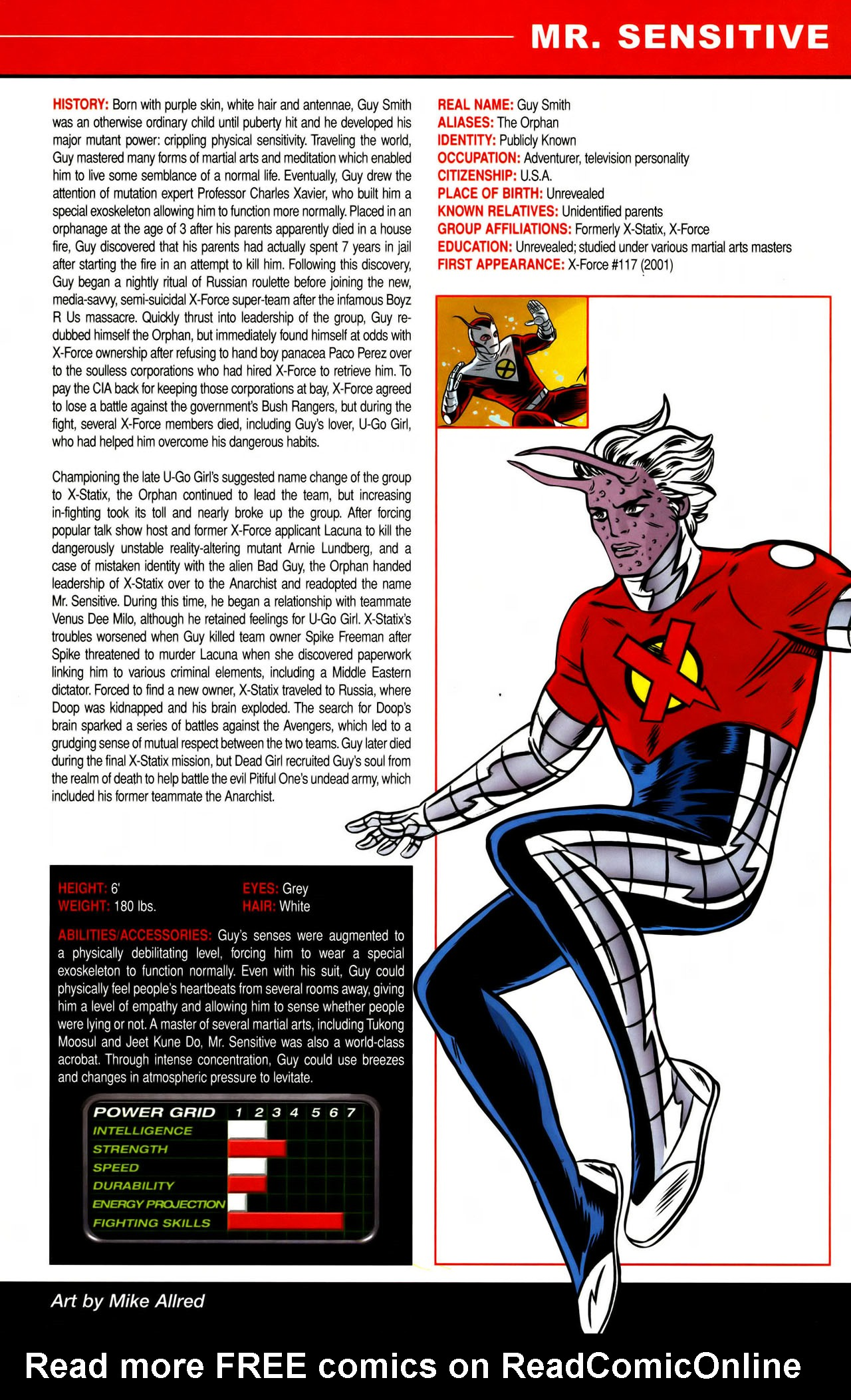 Read online All-New Official Handbook of the Marvel Universe A to Z comic -  Issue #7 - 41