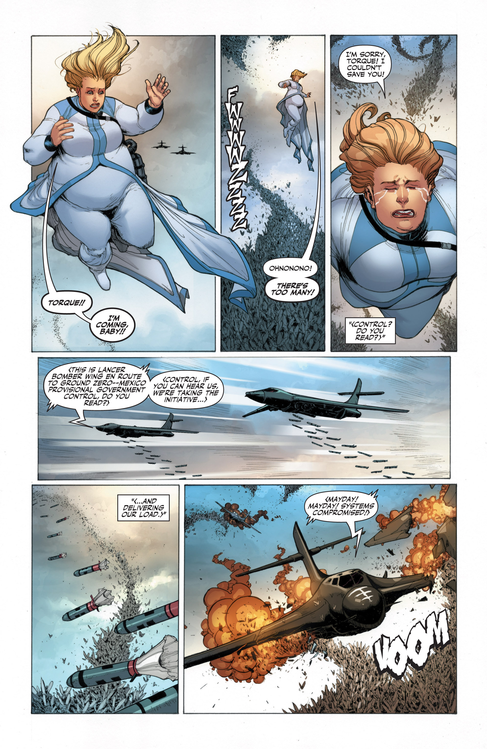 Read online Armor Hunters: Harbinger comic -  Issue # TPB - 62