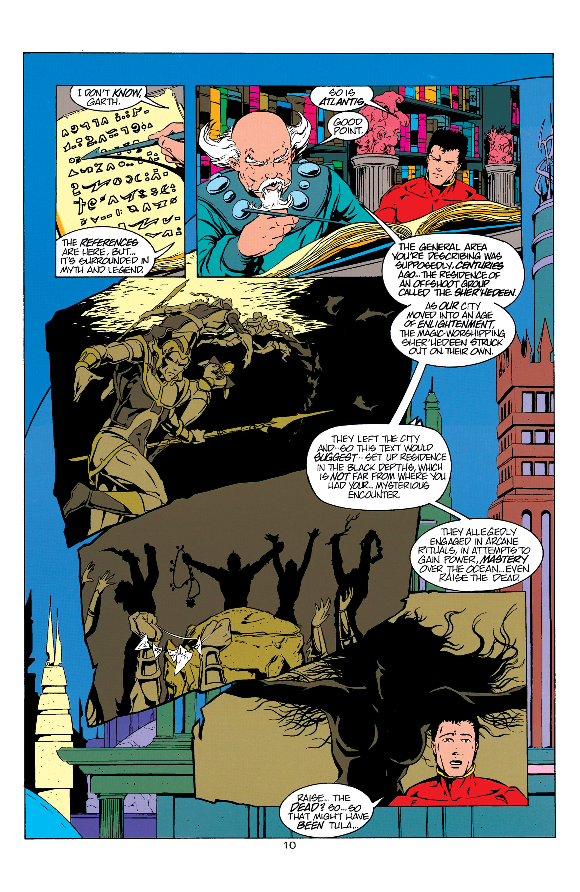 Read online Aquaman (1994) comic -  Issue #5 - 11