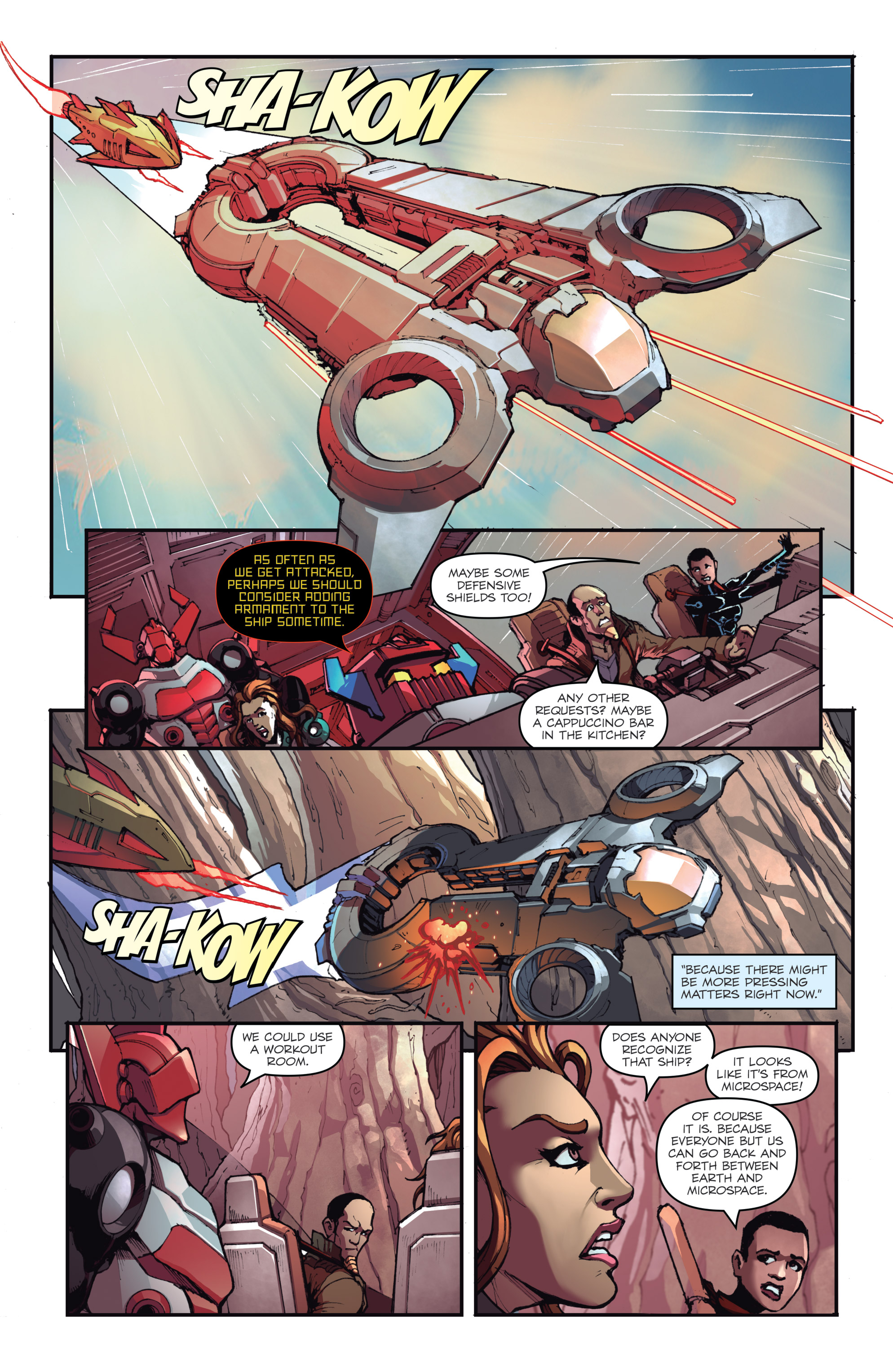 Read online Micronauts: Wrath of Karza comic -  Issue #2 - 7
