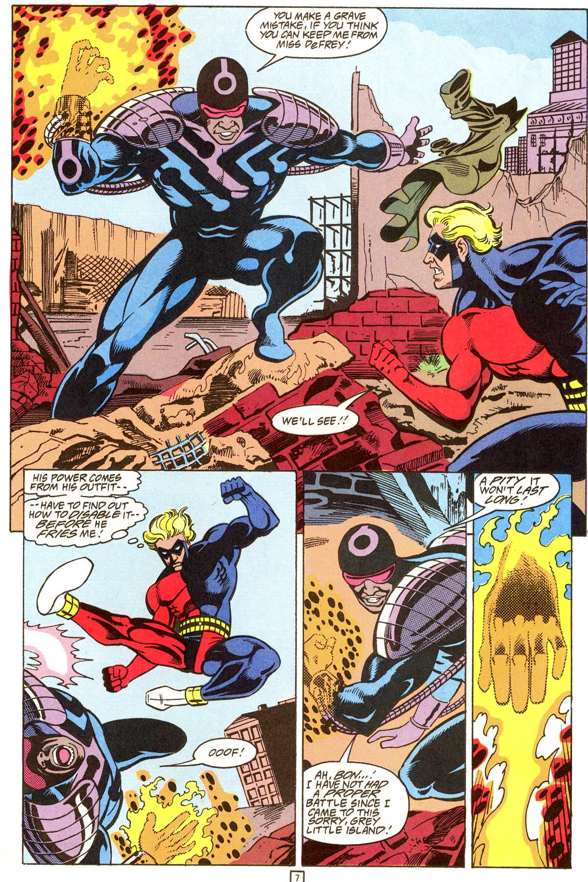 Read online Peter Cannon--Thunderbolt (1992) comic -  Issue #9 - 8