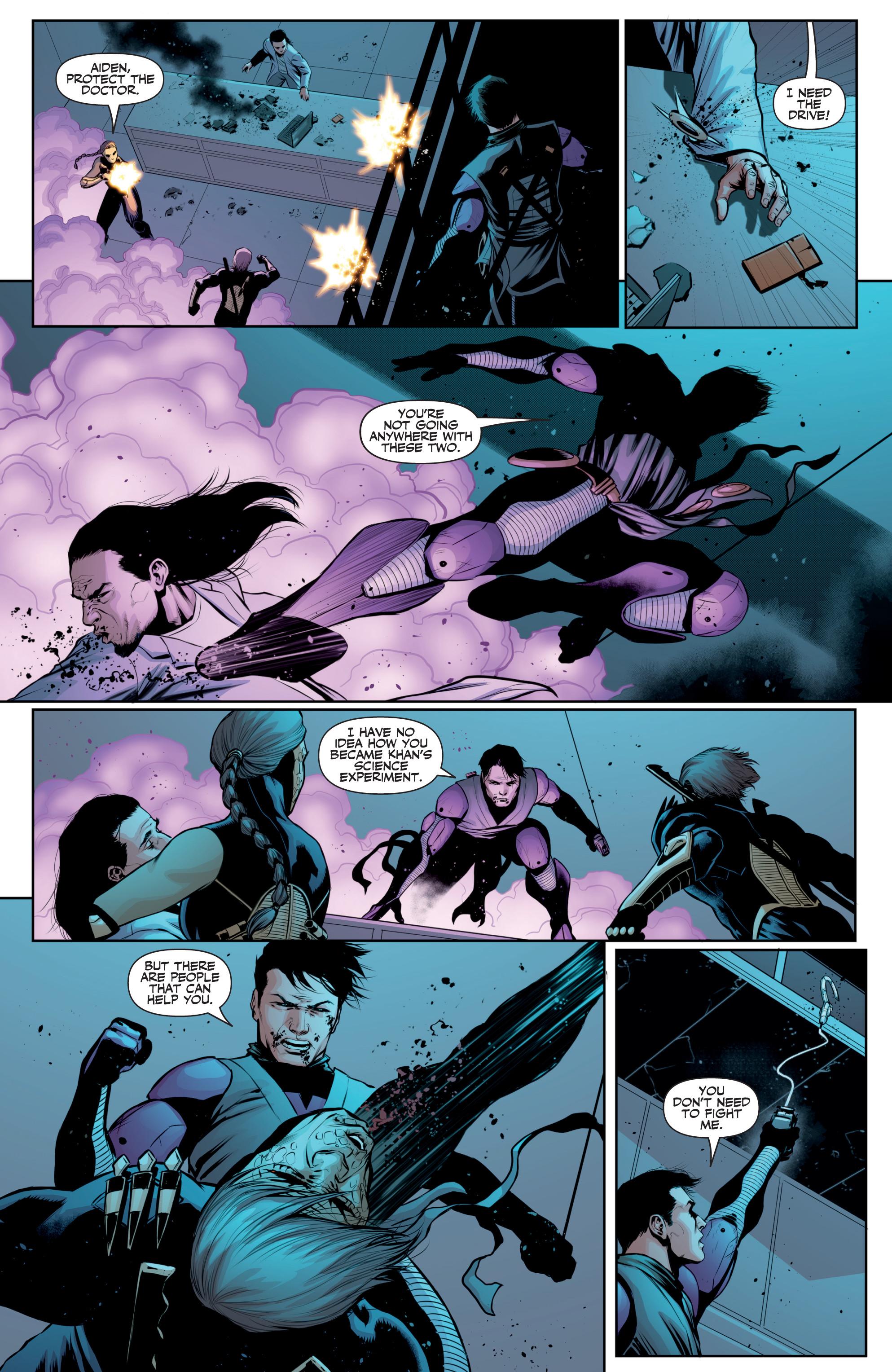 Read online Ninjak (2015) comic -  Issue #27 - 18