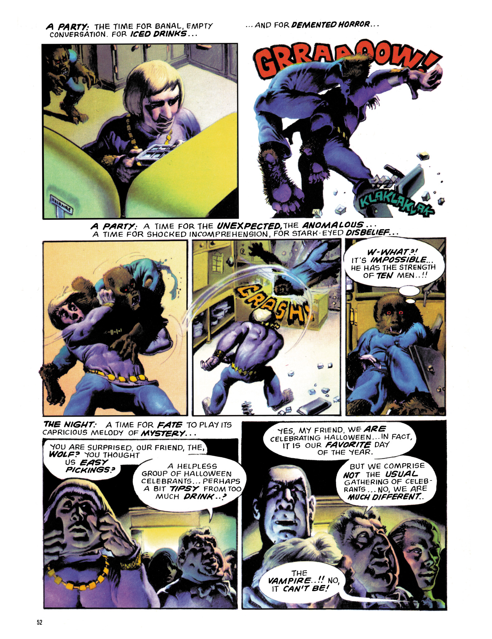 Read online Eerie Archives comic -  Issue # TPB 18 - 53