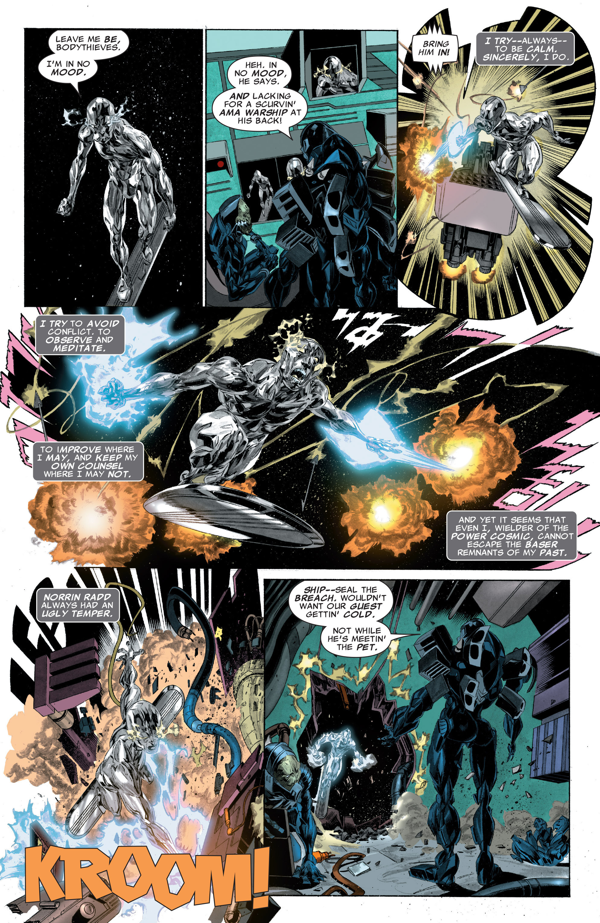 Read online Silver Surfer: In Thy Name comic -  Issue #2 - 21