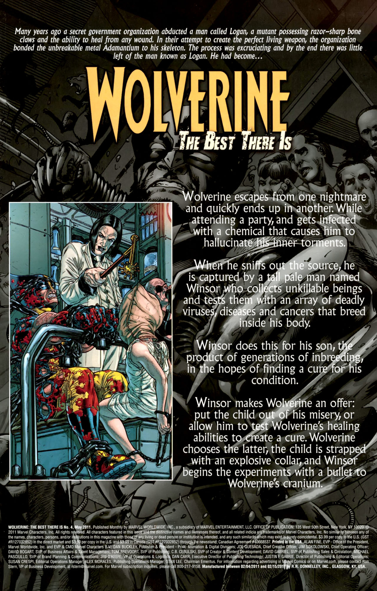 Read online Wolverine: The Best There Is comic -  Issue #4 - 2