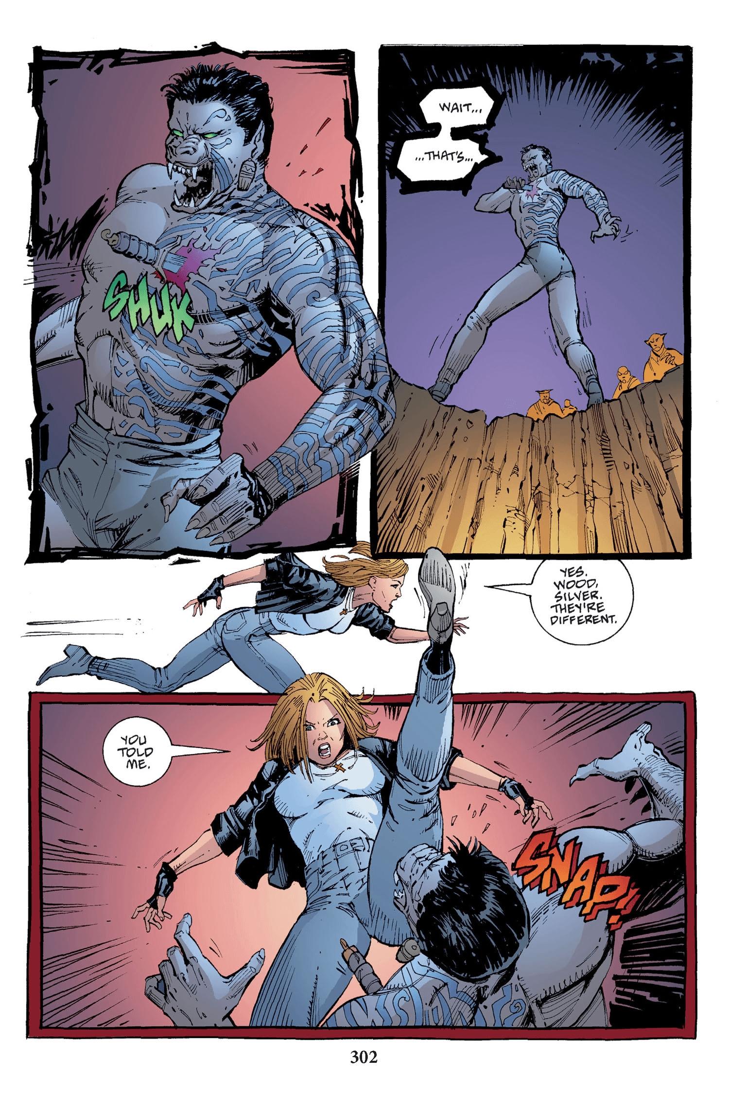 Read online Buffy the Vampire Slayer: Omnibus comic -  Issue # TPB 2 - 294