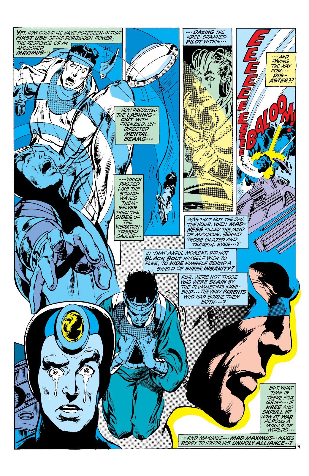 Read online Marvel Masterworks: The Inhumans comic -  Issue # TPB 1 (Part 3) - 9