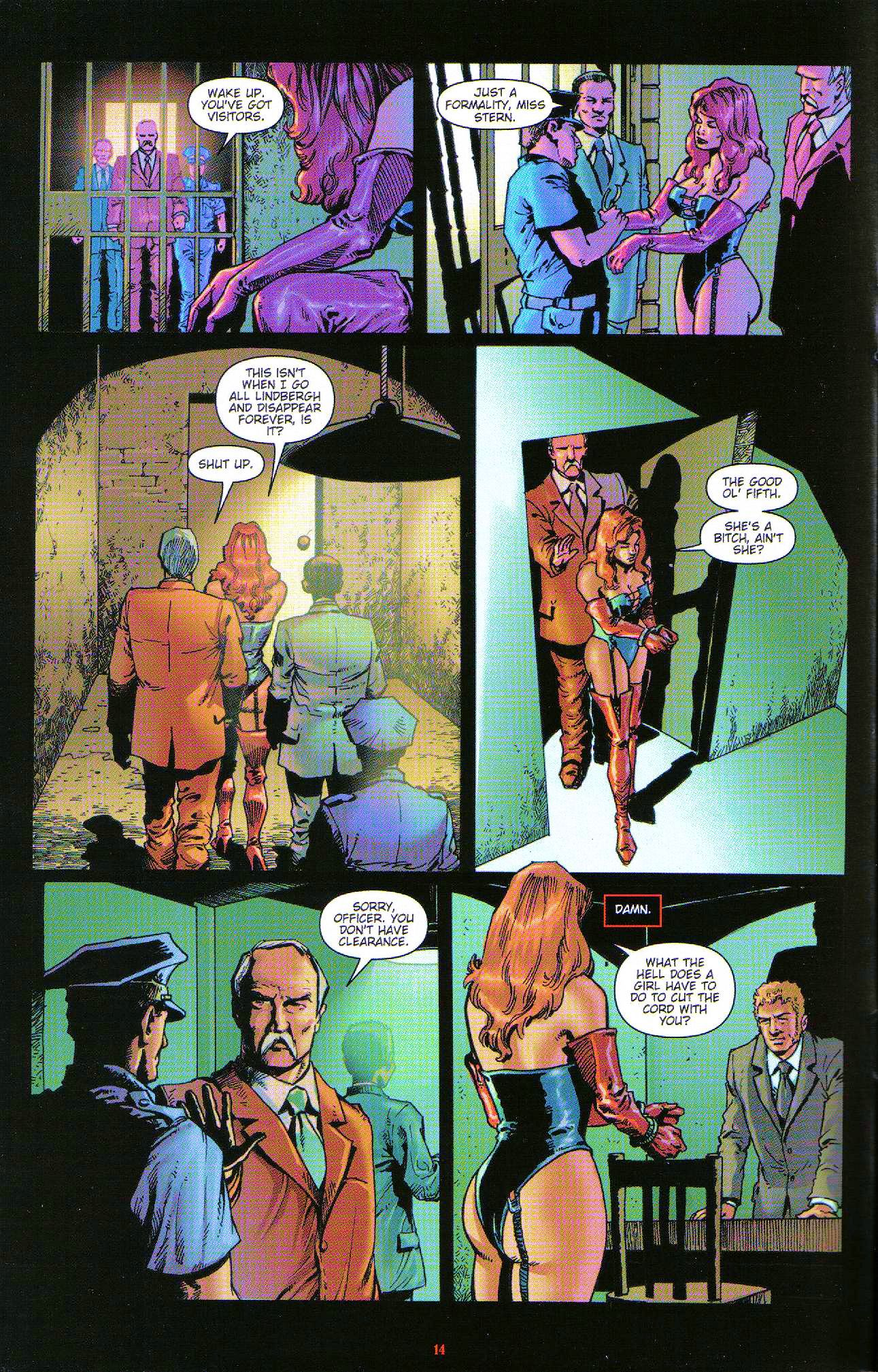 Read online Dominatrix comic -  Issue #6 - 16