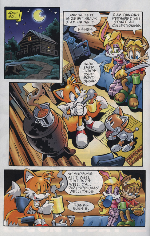 Read online Sonic Universe comic -  Issue #20 - 22