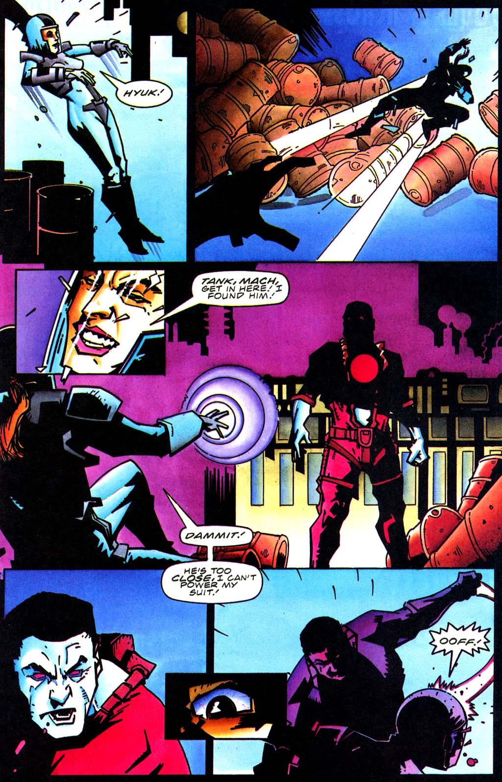 Read online Secret Weapons comic -  Issue #20 - 17