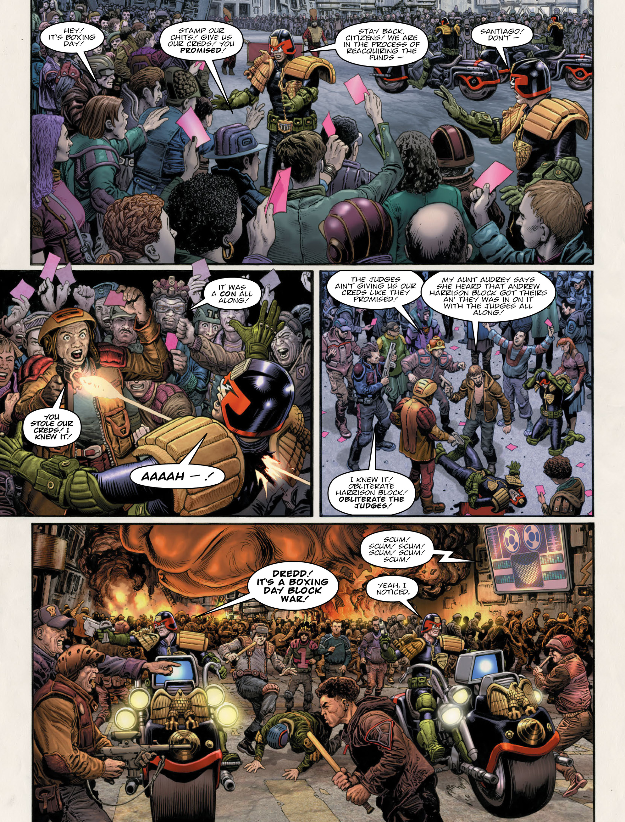 Read online 2000 AD comic -  Issue #2011 - 13