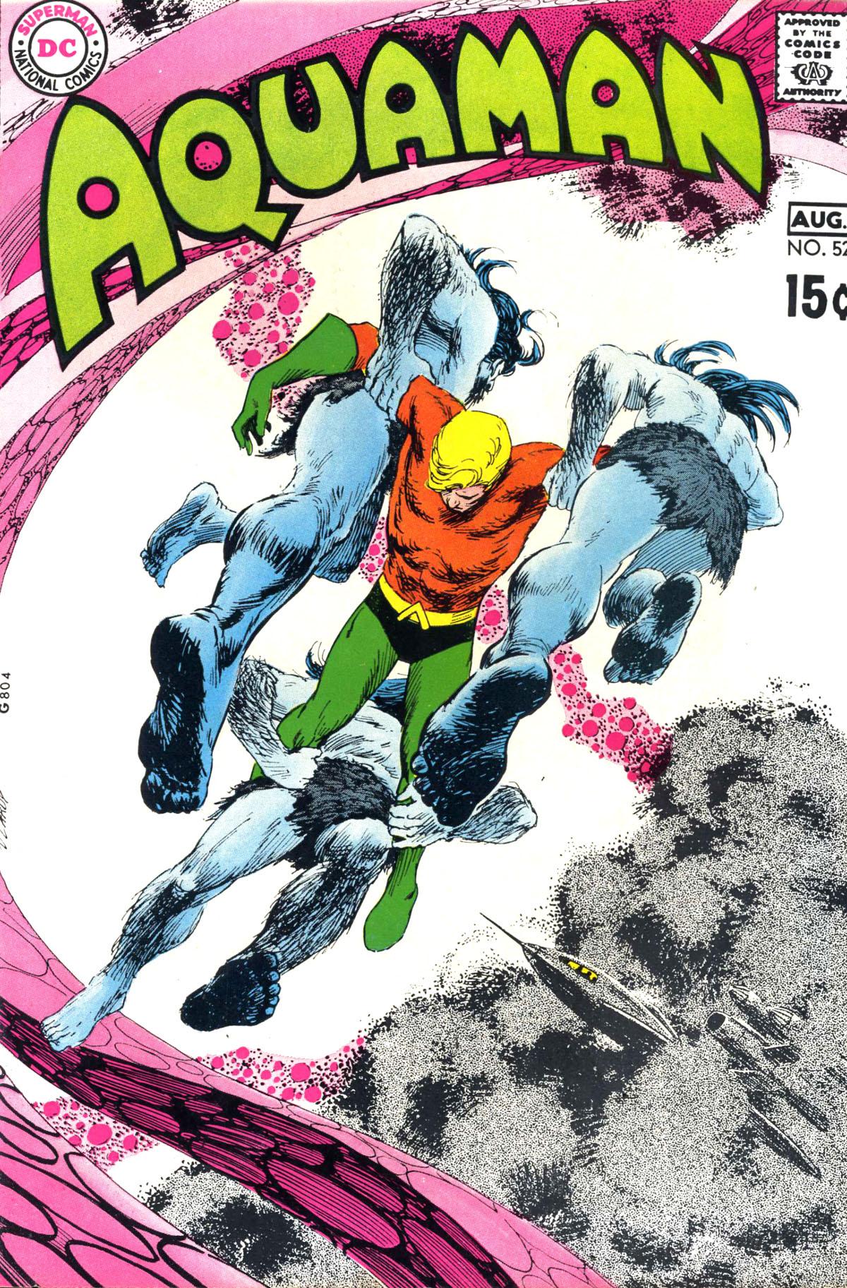 Read online Aquaman (1962) comic -  Issue #52 - 1