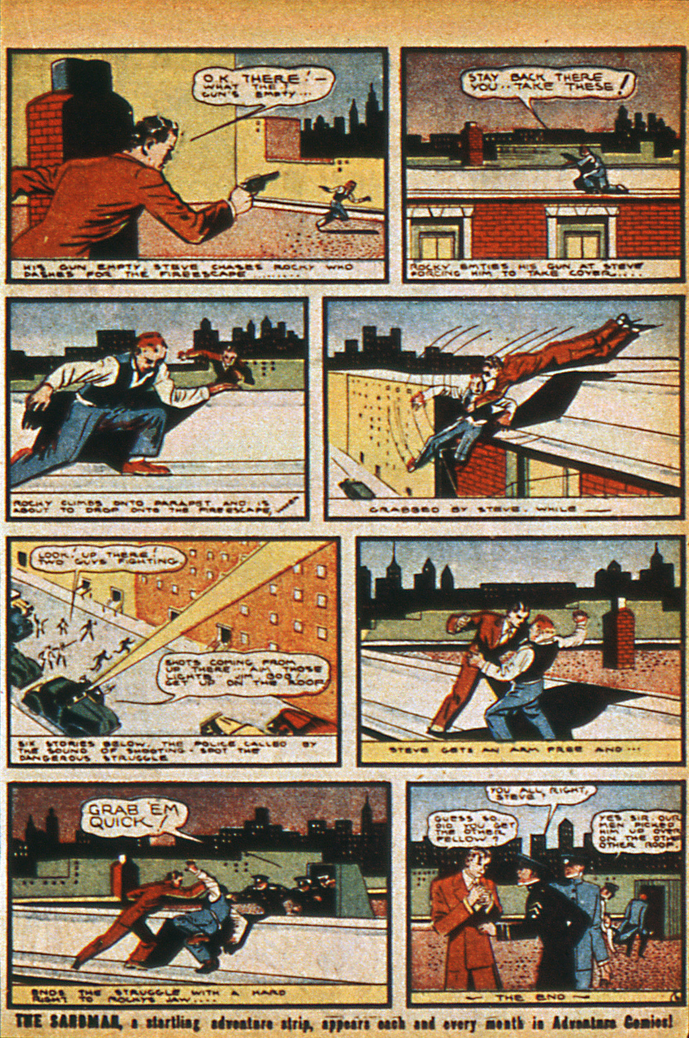 Read online Detective Comics (1937) comic -  Issue #36 - 35