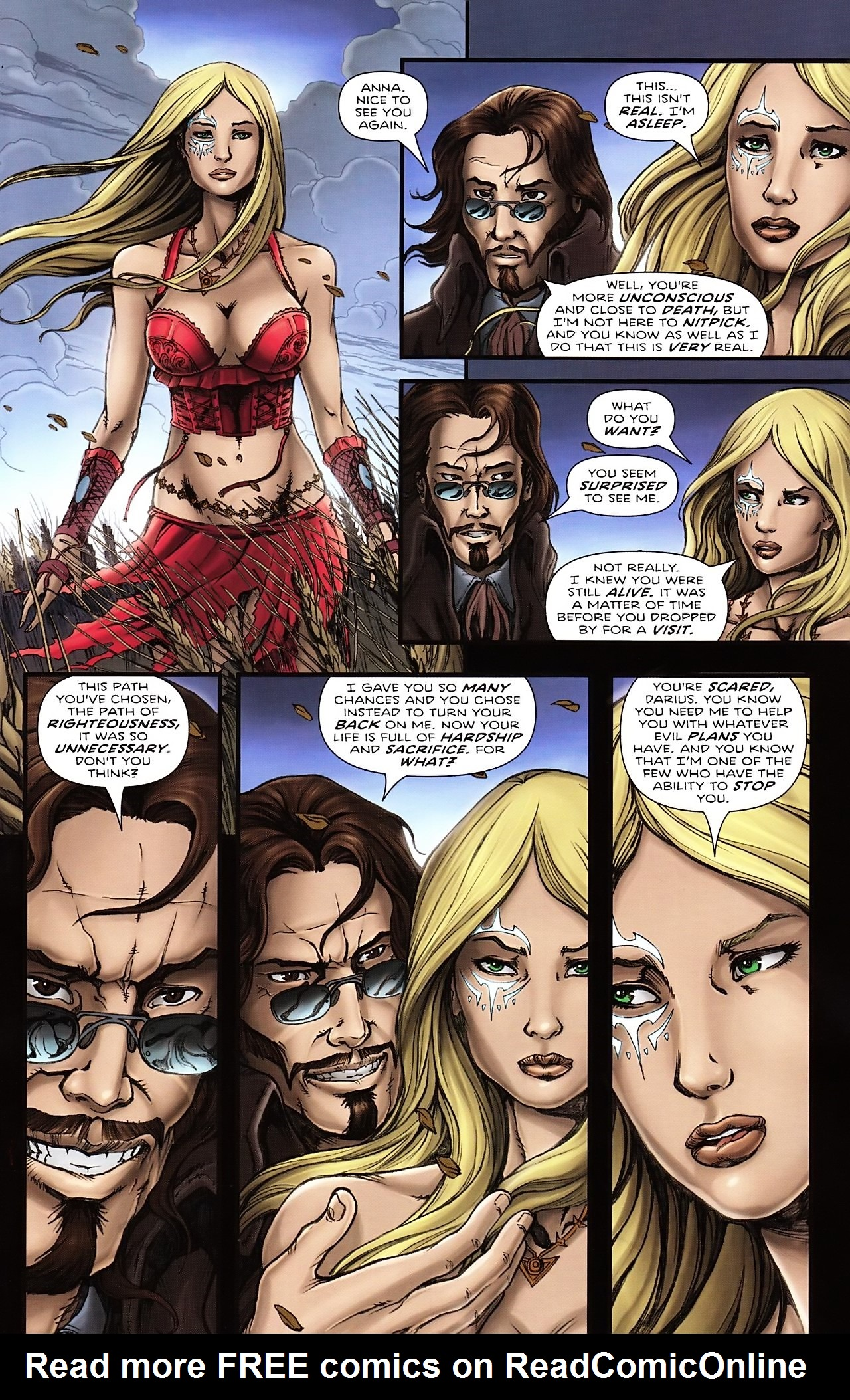 Read online Salem's Daughter: The Haunting comic -  Issue #4 - 5