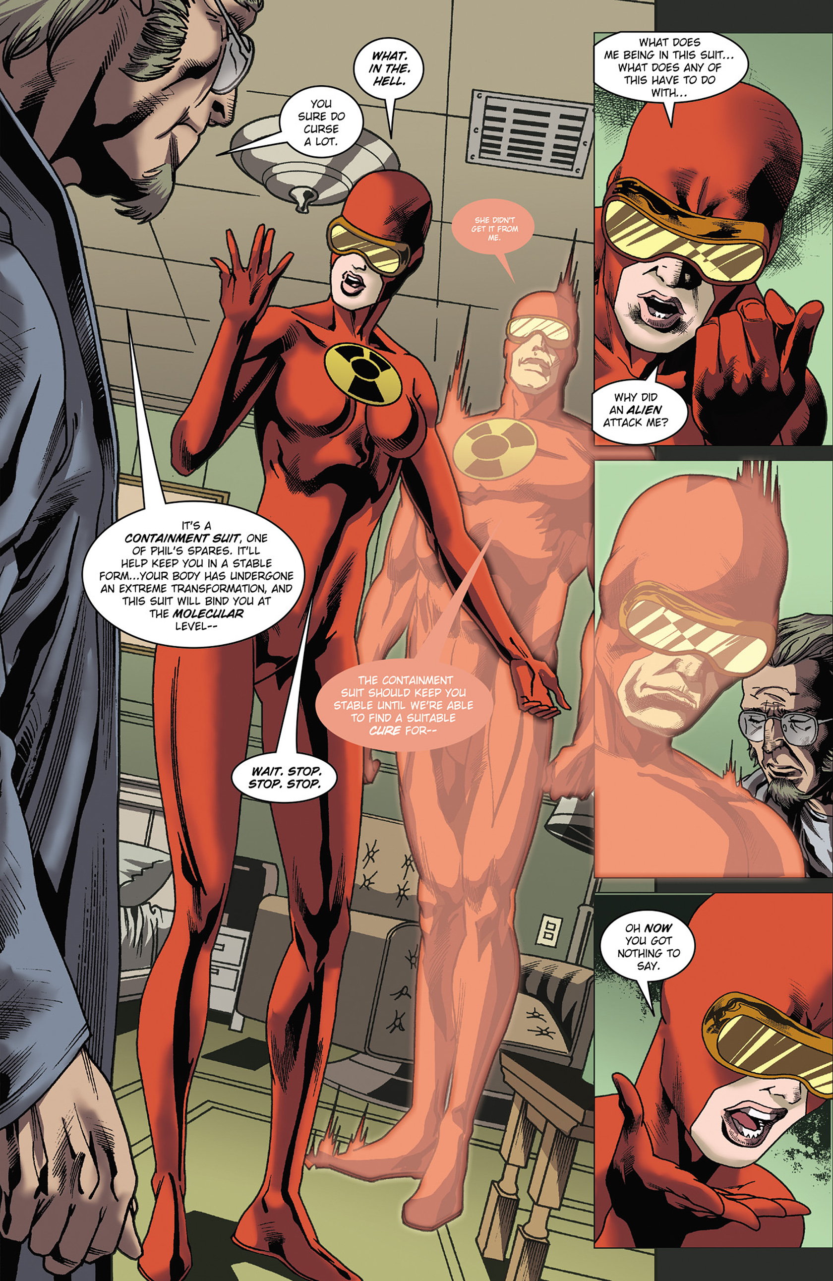 Read online Solar: Man of the Atom (2014) comic -  Issue #3 - 11