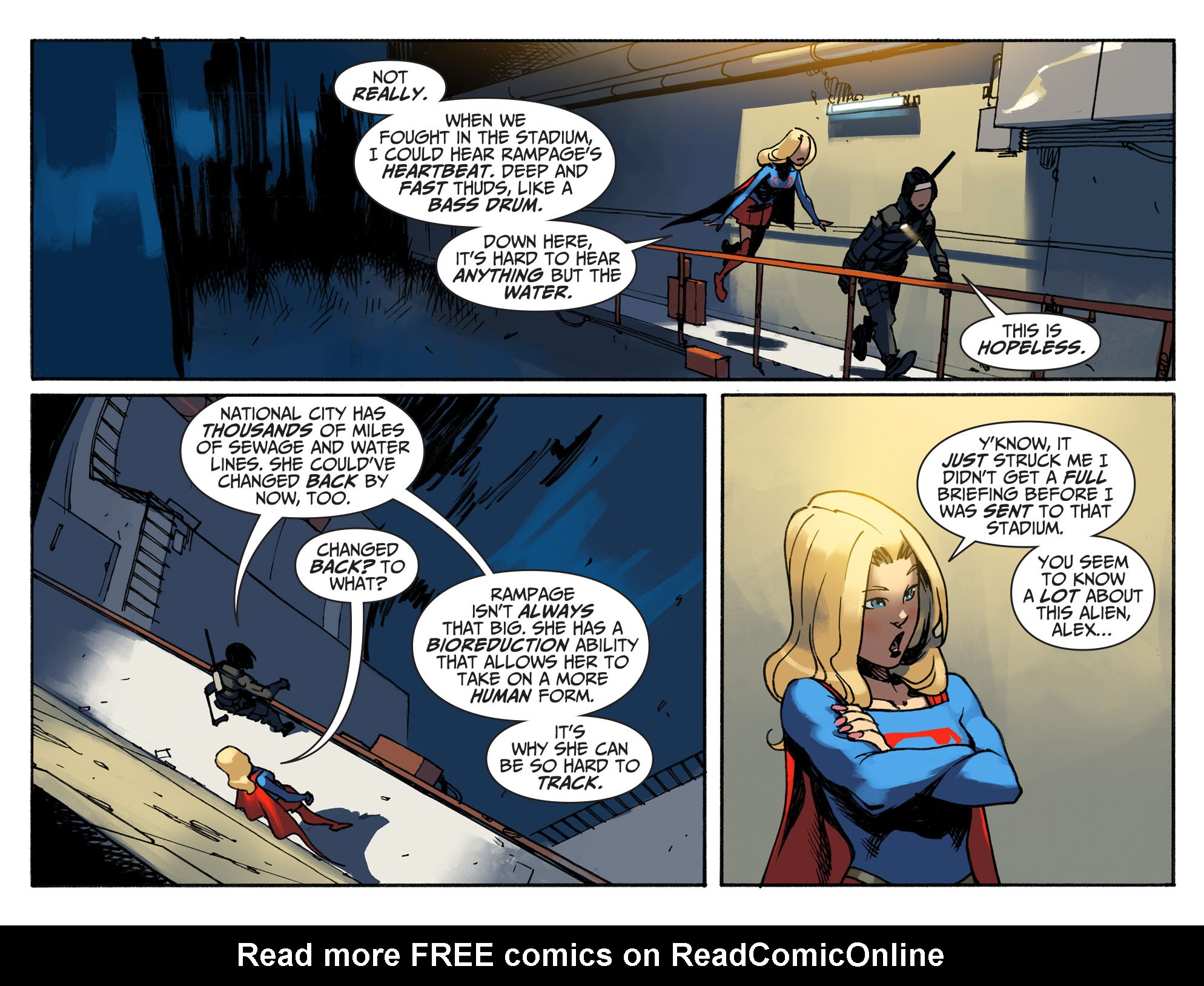 Read online Adventures of Supergirl comic -  Issue #2 - 15