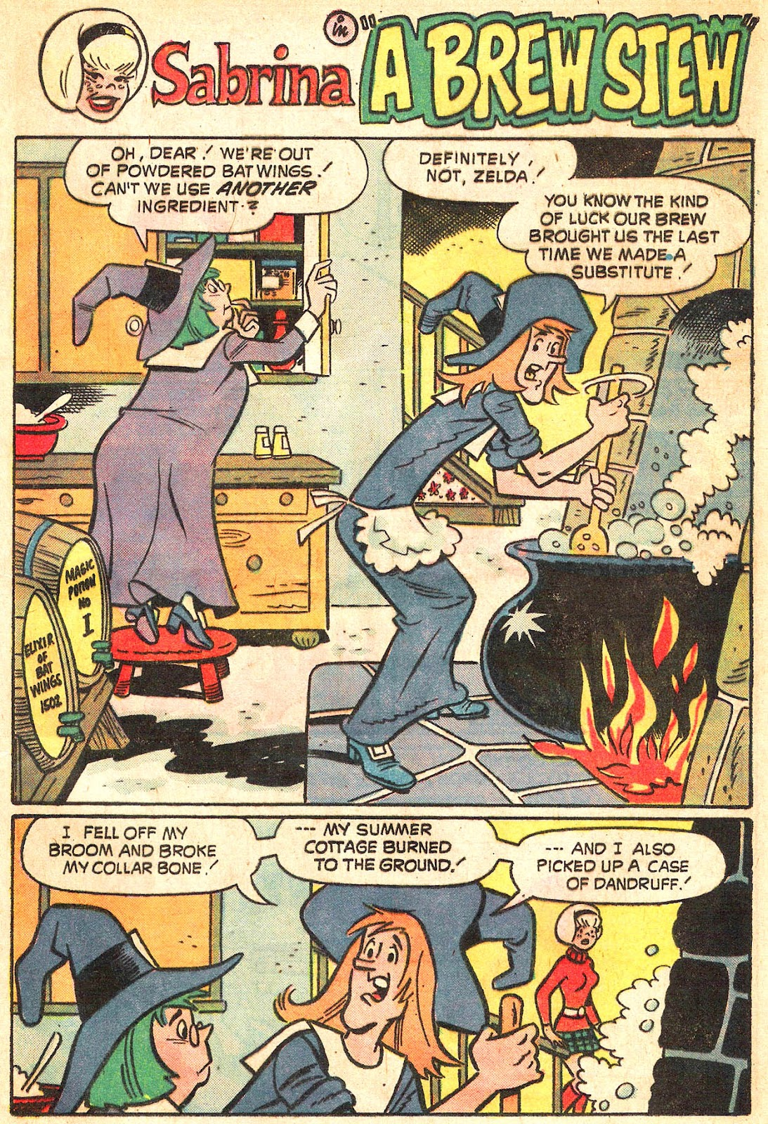 Sabrina The Teenage Witch (1971) Issue #20 #20 - English 13